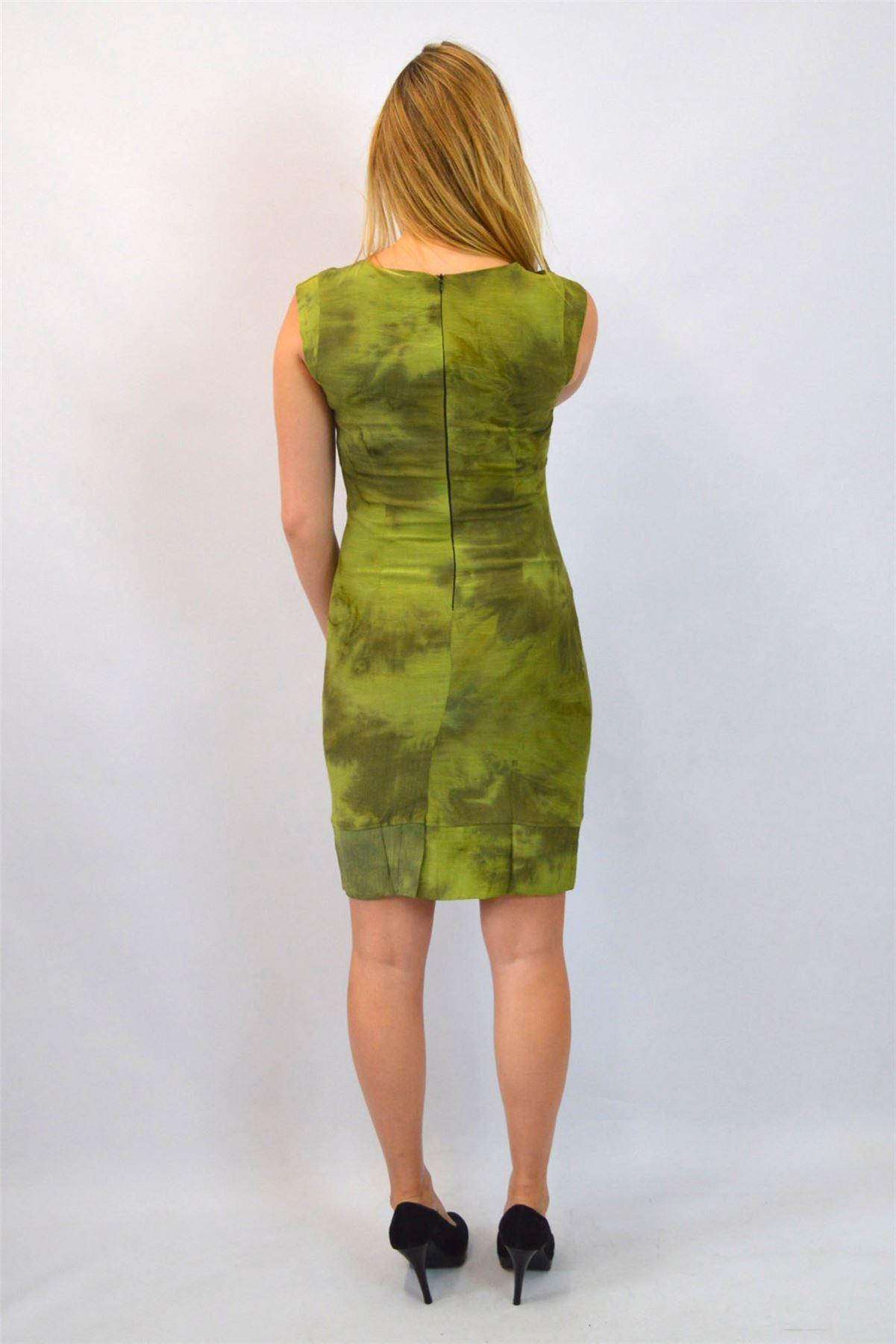 Silk-Blend-Mottled-Print-Lined-Sleeveless-Work-Dress-from-Office
