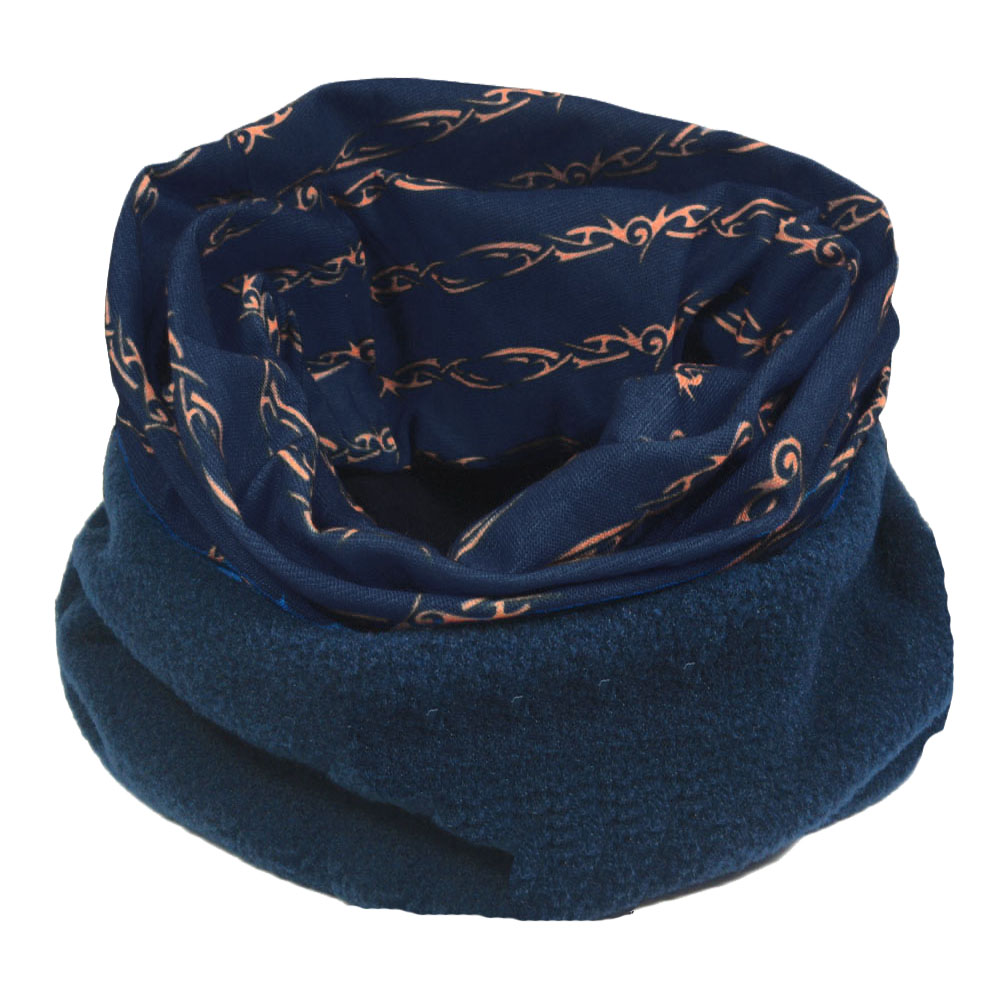 mens snood scarf how to wear