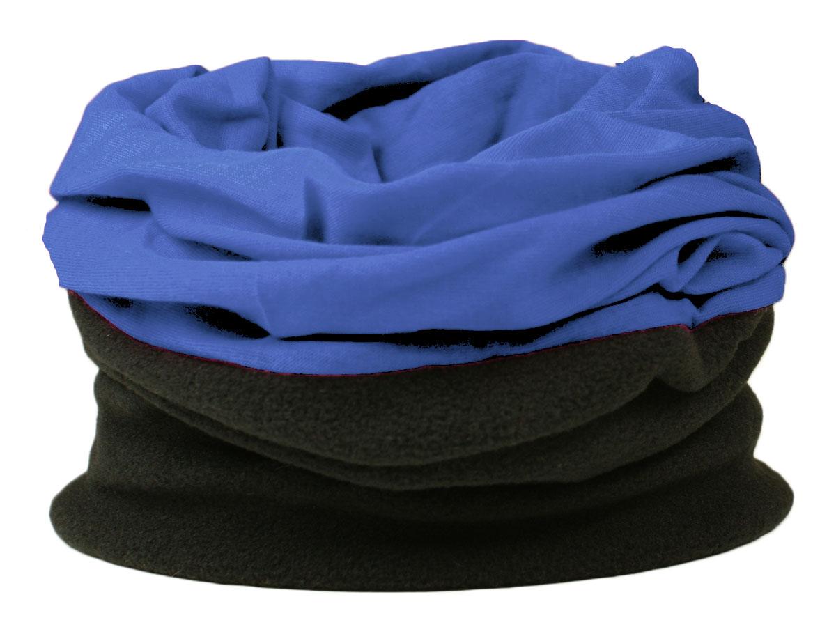 MENS-WINTER-FLEECE-SNOOD-NECKWARMER-SCARF-HOOD-BALACLAVA-BLACK-PRINT-PATTERN-HAT