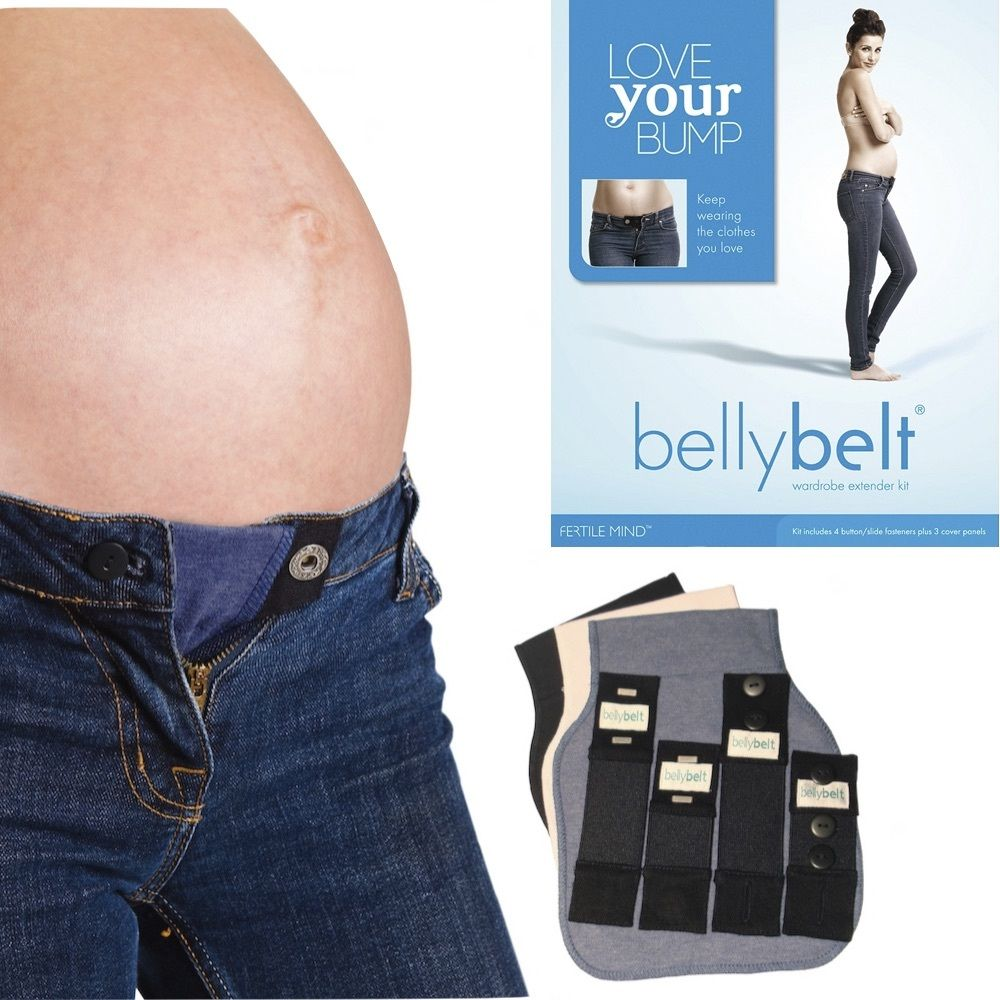 ONE EXTENDER BUTTON Made in the UK MATERNITY//PREGNANCY BELLY BAND