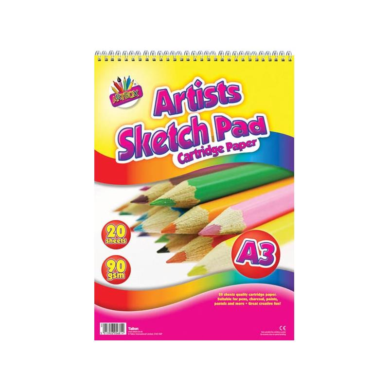 Art /& Craft Brand New 40 Sheets A3 Drawing Pad