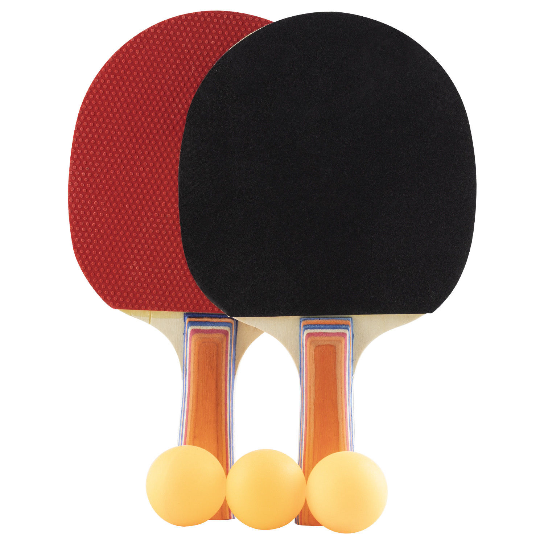 Wollowo Table Tennis Ping Pong Bat Amp Ball 2 Player Paddle