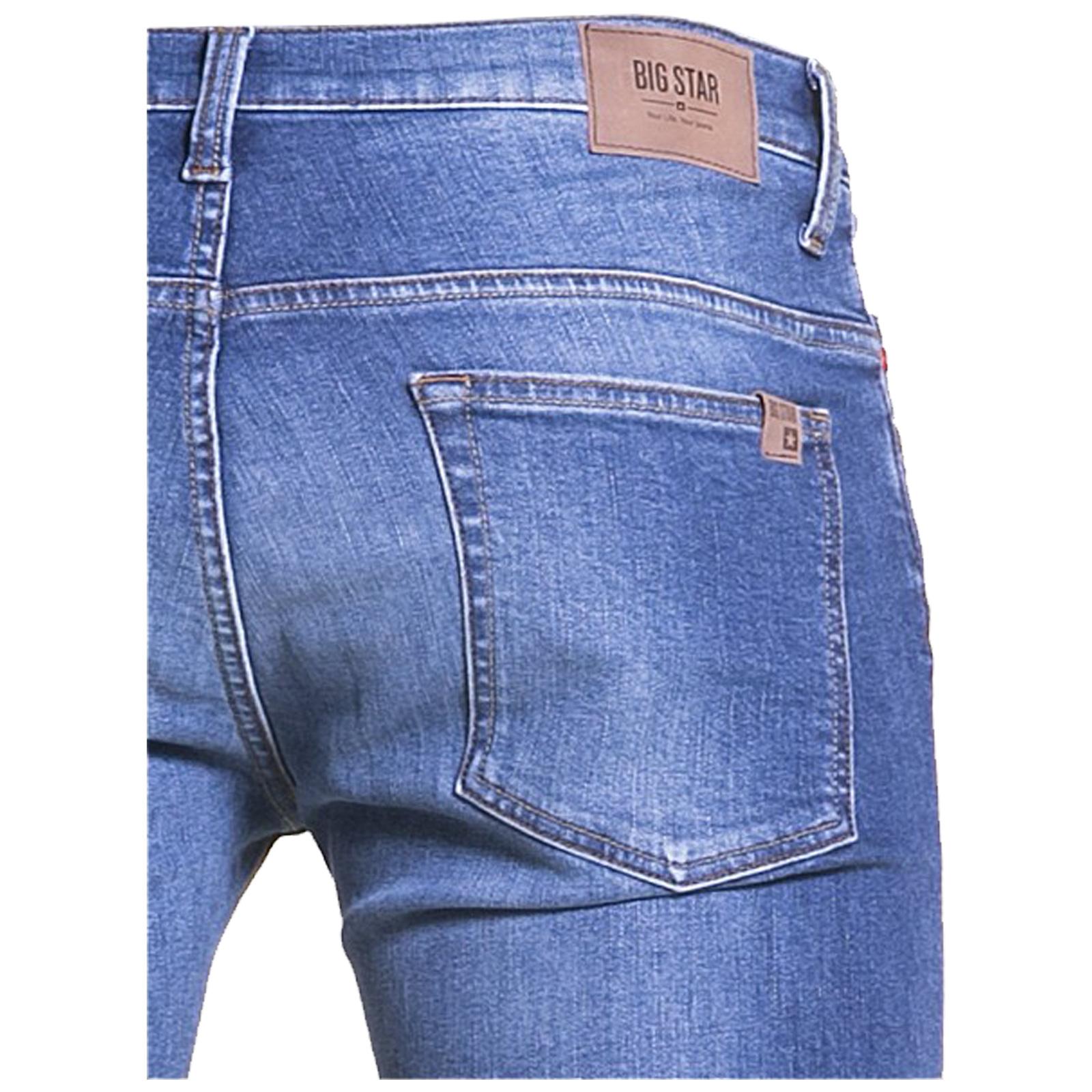 Big-Star-Mens-Denim-Jeans-Straight-Tapered-Leg-Style-Designer-Casual-Trousers thumbnail 7