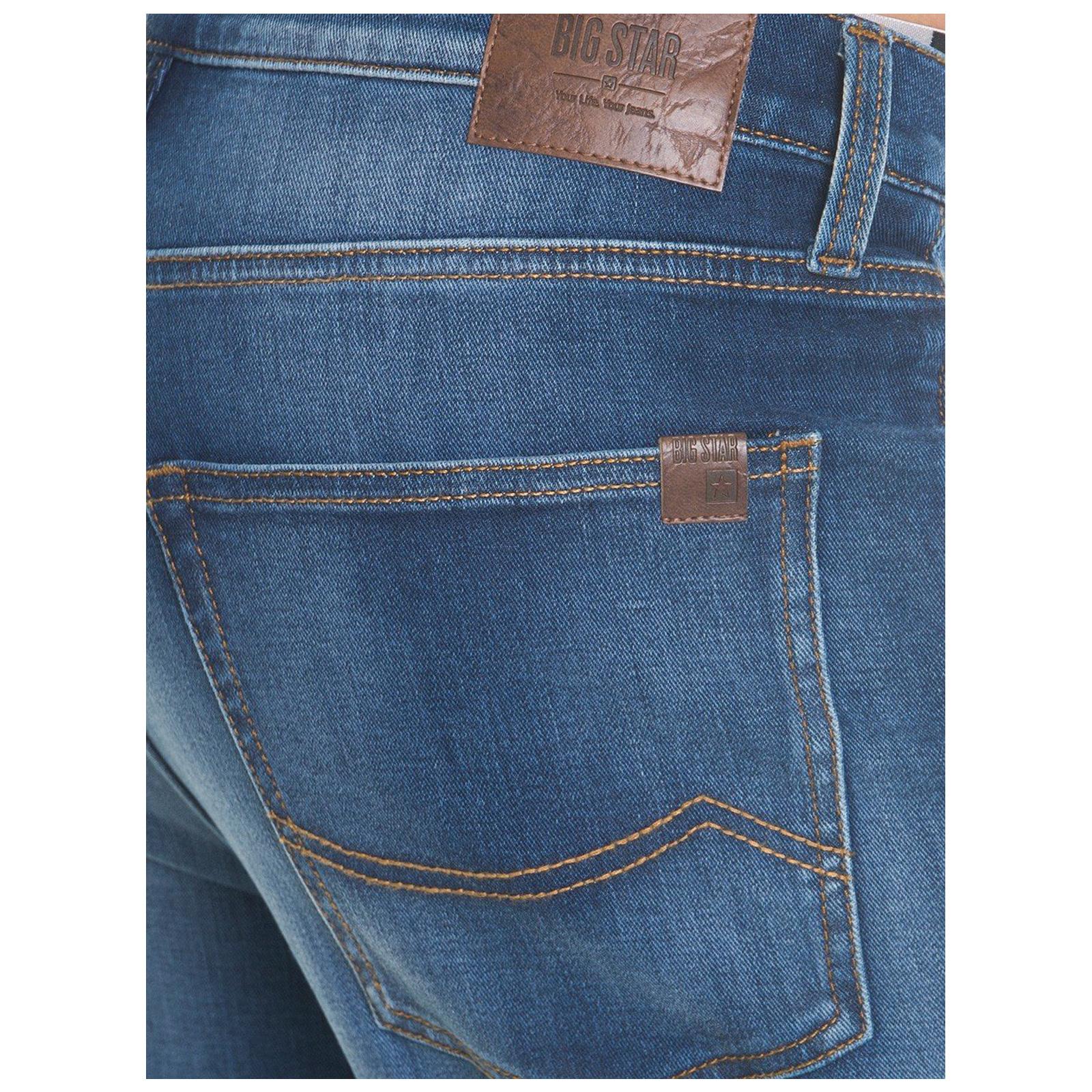 Big-Star-Mens-Denim-Jeans-Straight-Tapered-Leg-Style-Designer-Casual-Trousers thumbnail 9