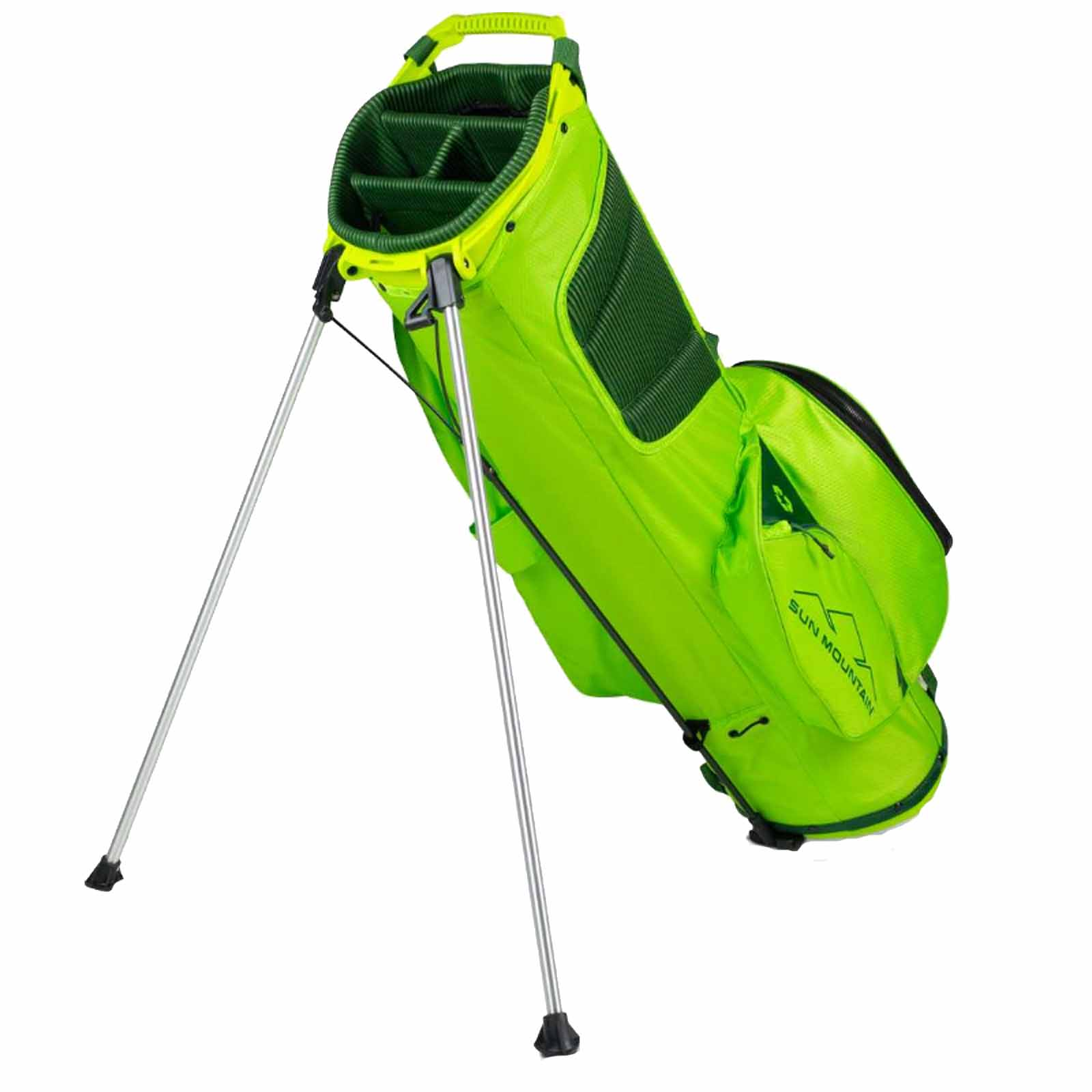 thumbnail 9 - 2021 Sun Mountain Eco-Lite Golf Stand Carry Bag Dual Carry Strap 4-Way Divider