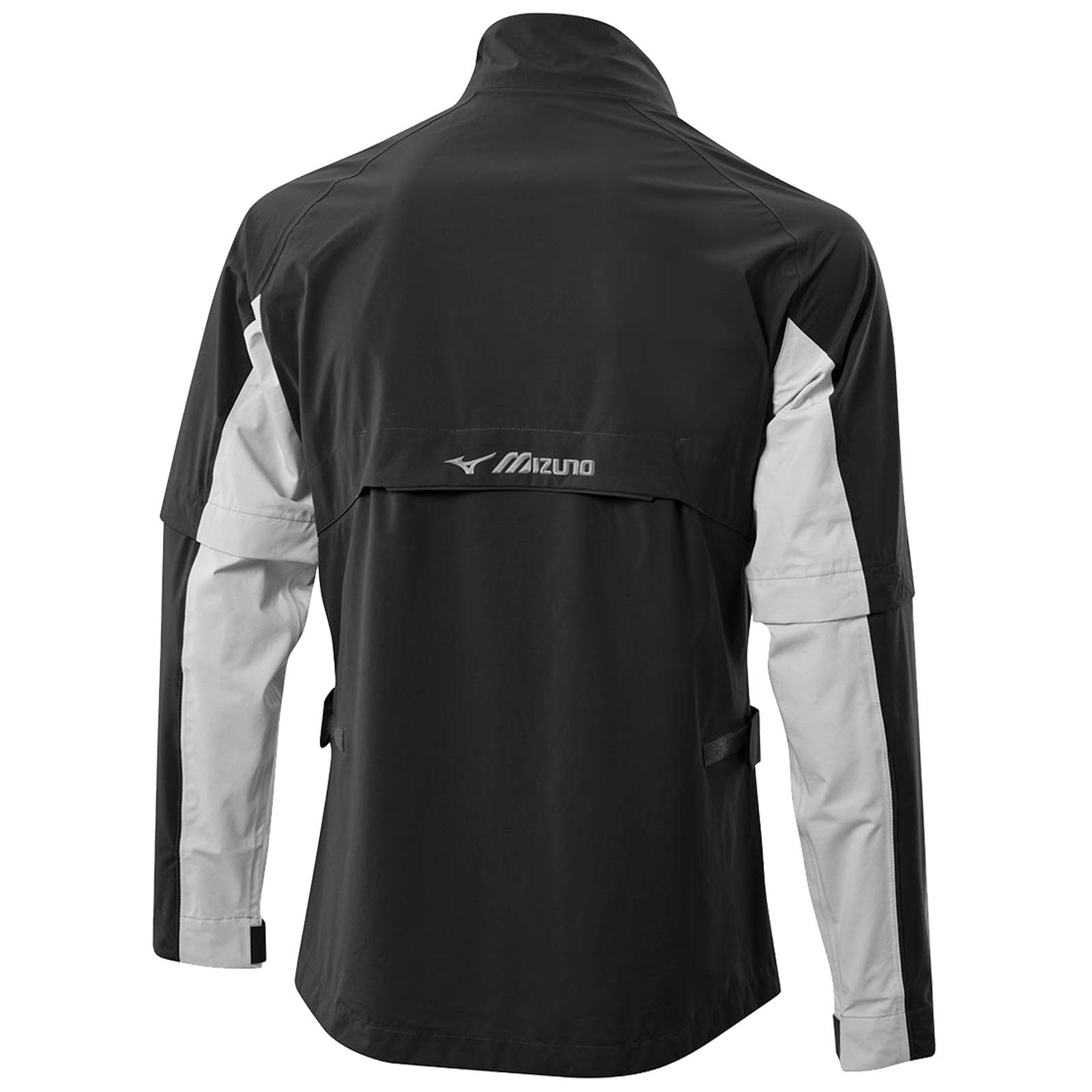 Mizuno-Mens-Impermalite-F20-Waterproof-Rain-Jacket-Top-Lightweight-Coat-Golf thumbnail 3