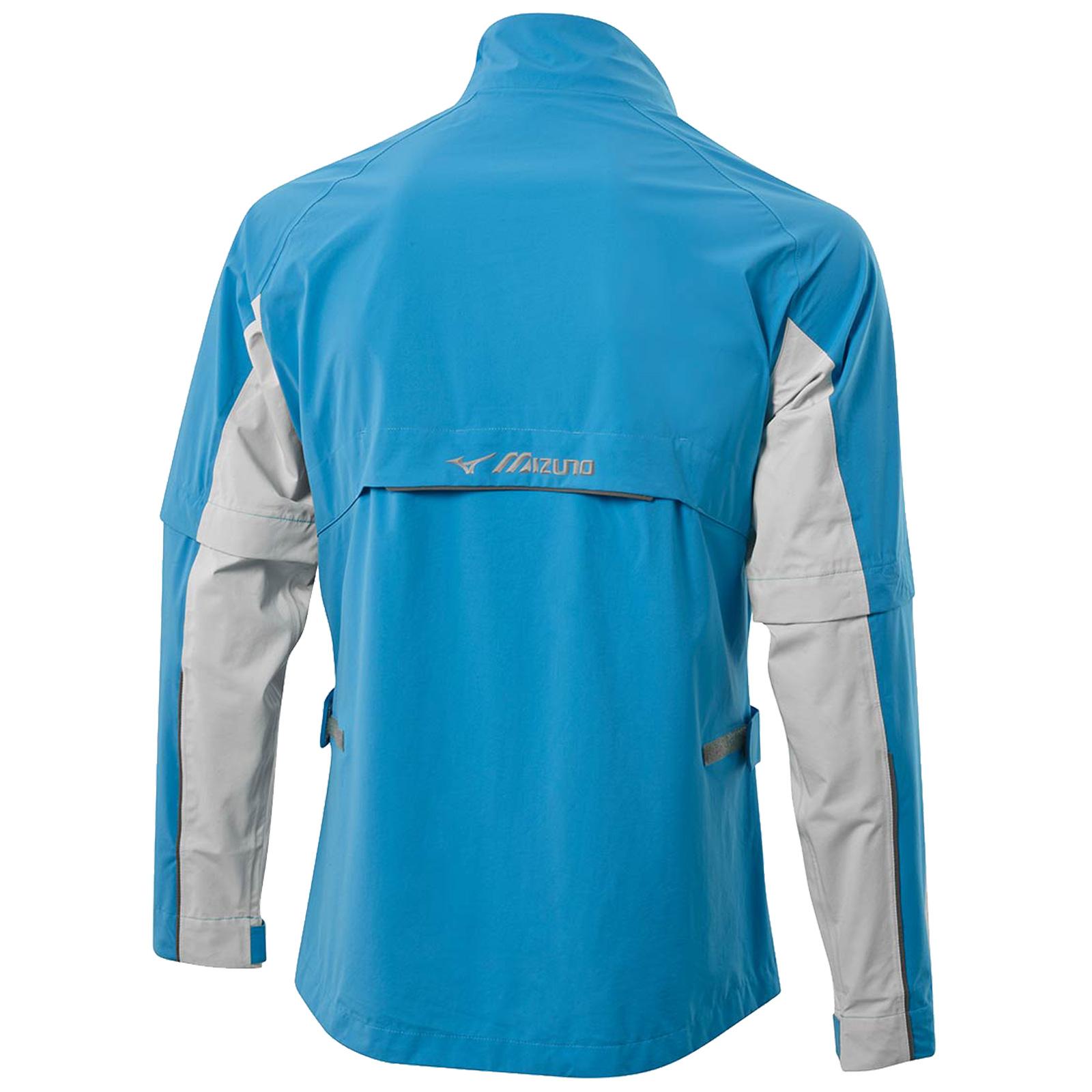 Mizuno-Mens-Impermalite-F20-Waterproof-Rain-Jacket-Top-Lightweight-Coat-Golf thumbnail 5