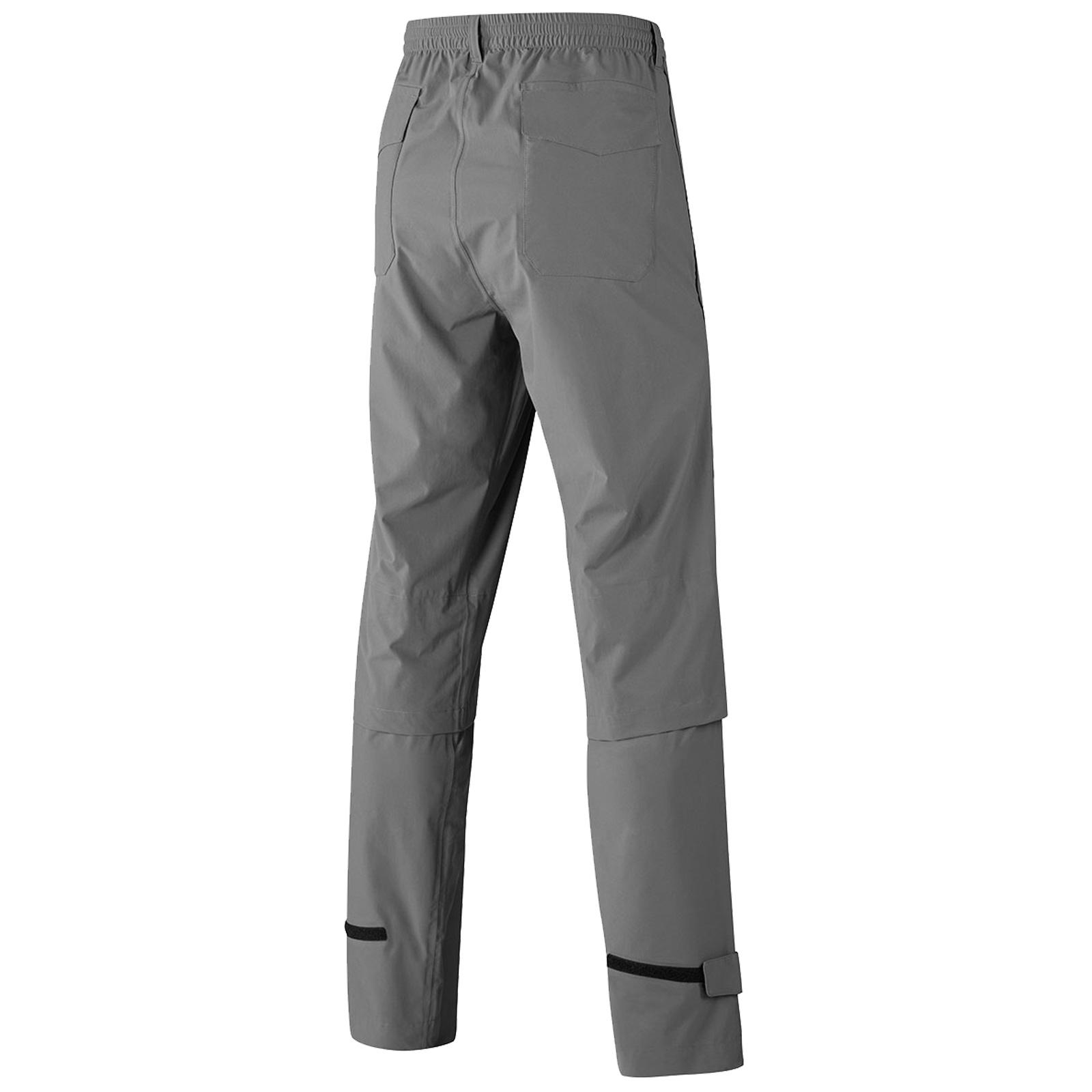 MIZUNO-Uomo-Impermalite-F20-Impermeabile-Pioggia-Pantaloni-Leggero-Pantalone-Da-Golf miniatura 7