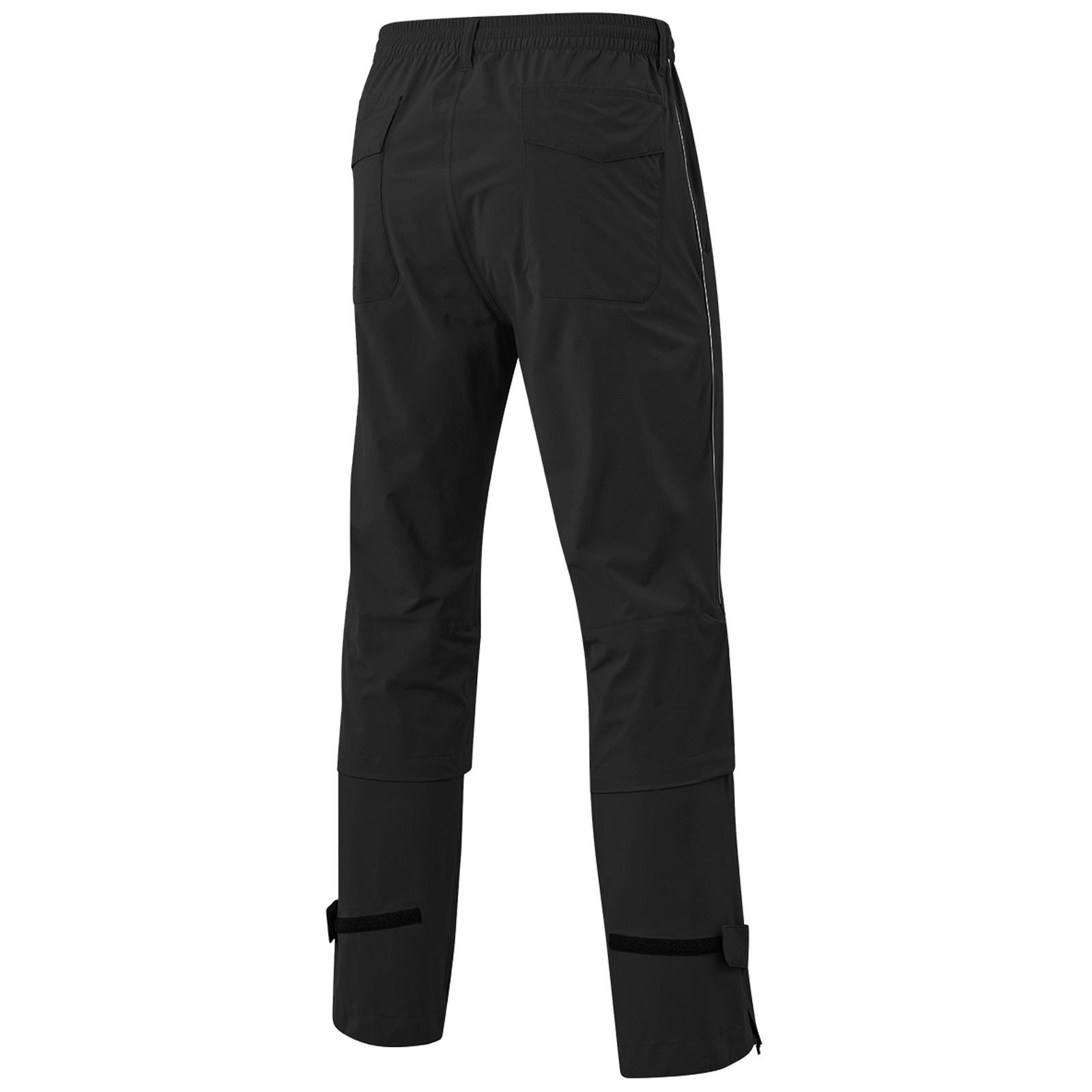 MIZUNO-Uomo-Impermalite-F20-Impermeabile-Pioggia-Pantaloni-Leggero-Pantalone-Da-Golf miniatura 3
