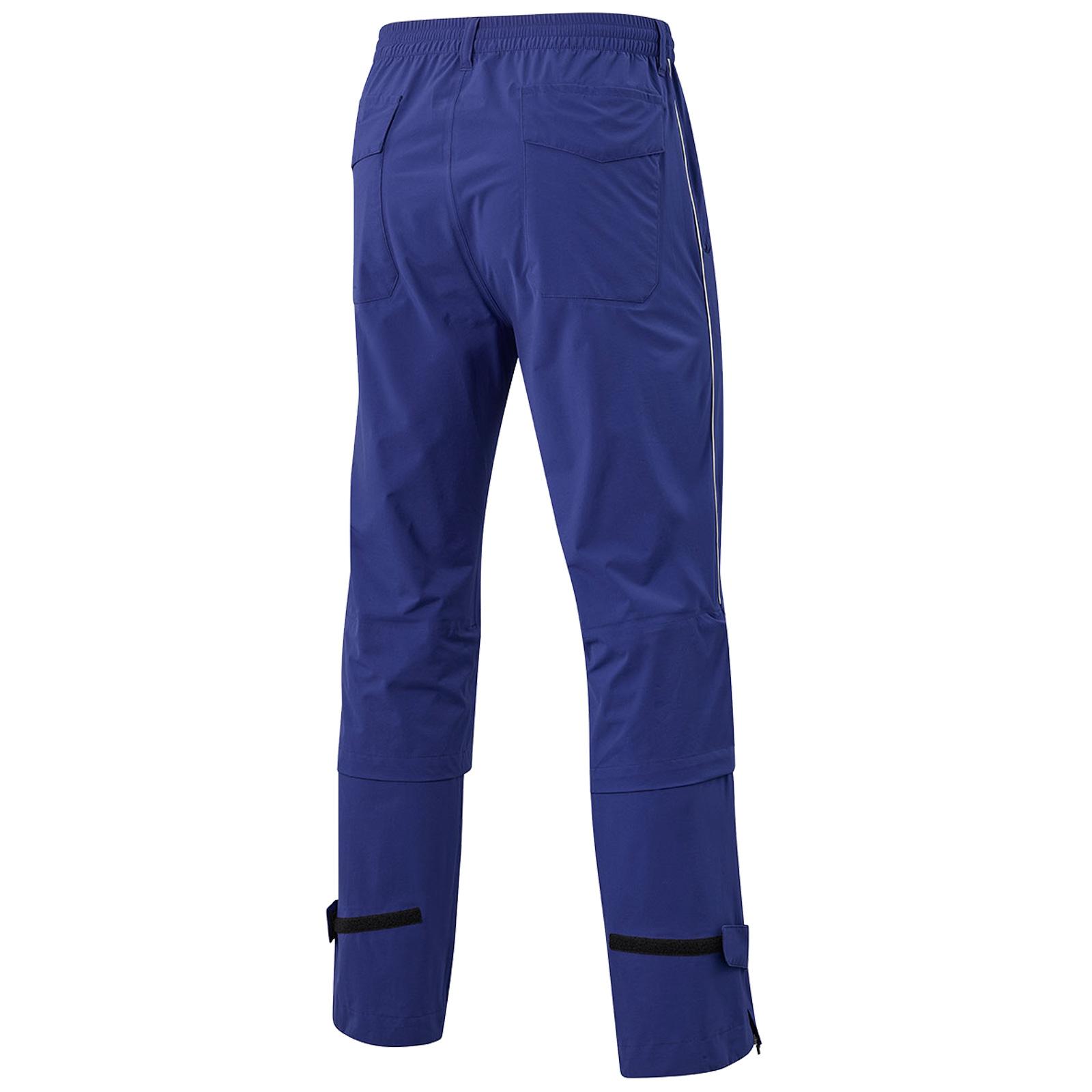 MIZUNO-Uomo-Impermalite-F20-Impermeabile-Pioggia-Pantaloni-Leggero-Pantalone-Da-Golf miniatura 5