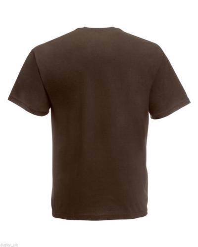 3-or-5-PACK-MENS-FRUIT-OF-THE-LOOM-100-COTTON-PLAIN-TEE-SHIRT-T-SHIRT-T-SHIRT thumbnail 24