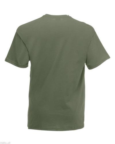 3-or-5-PACK-MENS-FRUIT-OF-THE-LOOM-100-COTTON-PLAIN-TEE-SHIRT-T-SHIRT-T-SHIRT thumbnail 22