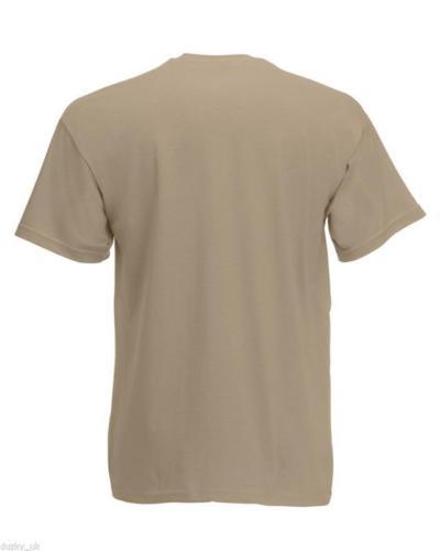 3-or-5-PACK-MENS-FRUIT-OF-THE-LOOM-100-COTTON-PLAIN-TEE-SHIRT-T-SHIRT-T-SHIRT thumbnail 26