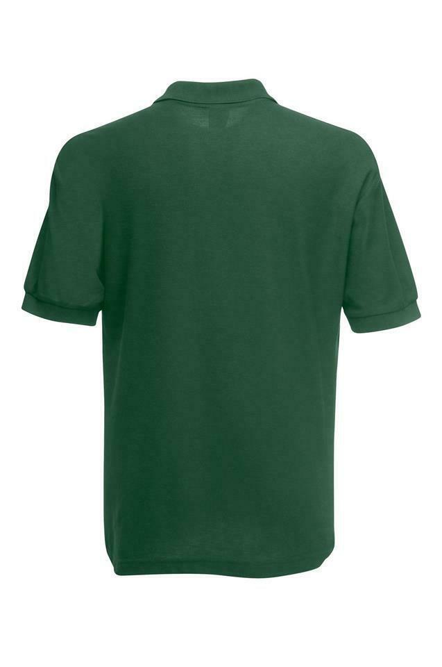 Fruit-of-the-Loom-Polo-Shirt-Plain-Short-Sleeve-Men-039-s-Polo-Tee-T-Shirt-S-5XL thumbnail 11