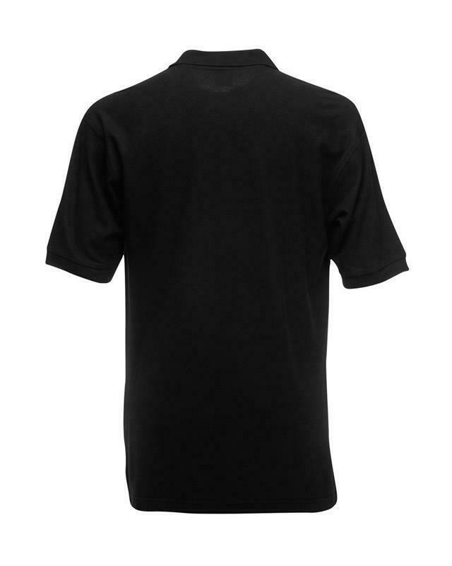 Fruit-of-the-Loom-Polo-Shirt-Plain-Short-Sleeve-Men-039-s-Polo-Tee-T-Shirt-S-5XL thumbnail 7