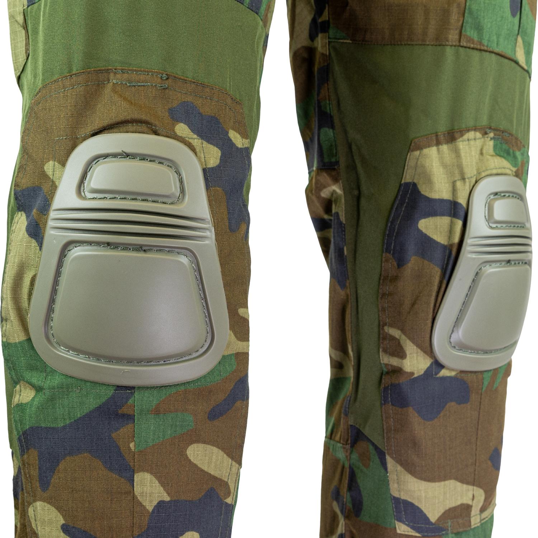 VIPER Tactical BDU Pantaloni Cargo Combat Airsoft Uniforme Militare Tan Coyote 36