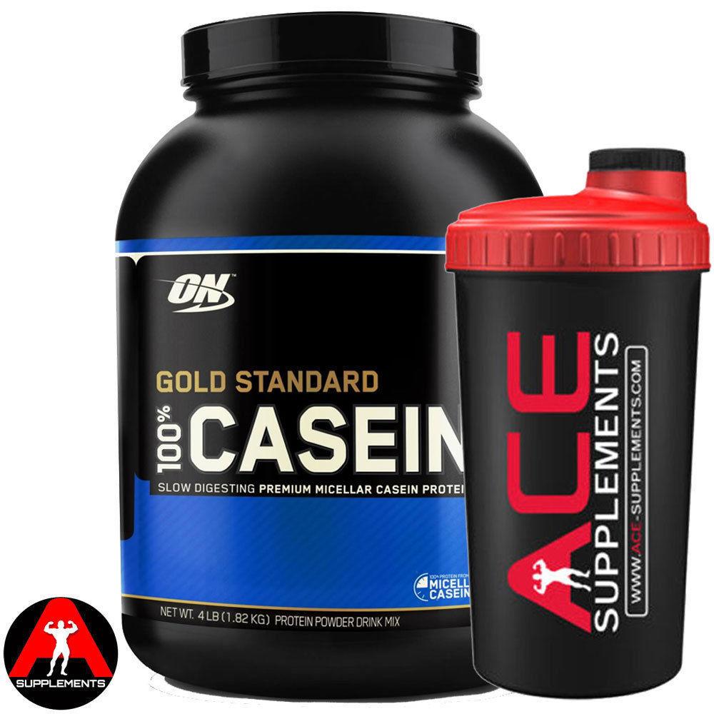 Protein Shaker Optimum Nutrition: Optimum Nutrition ON Gold Standard 100% Casein Protein 1