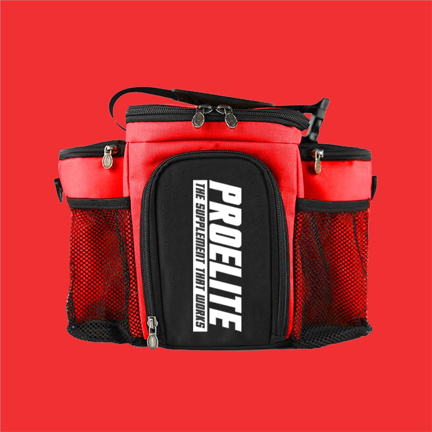419e501be8d2 3 Meal Bag Food Prep Management Insulated Fitness Gym Cooler Lunch ...