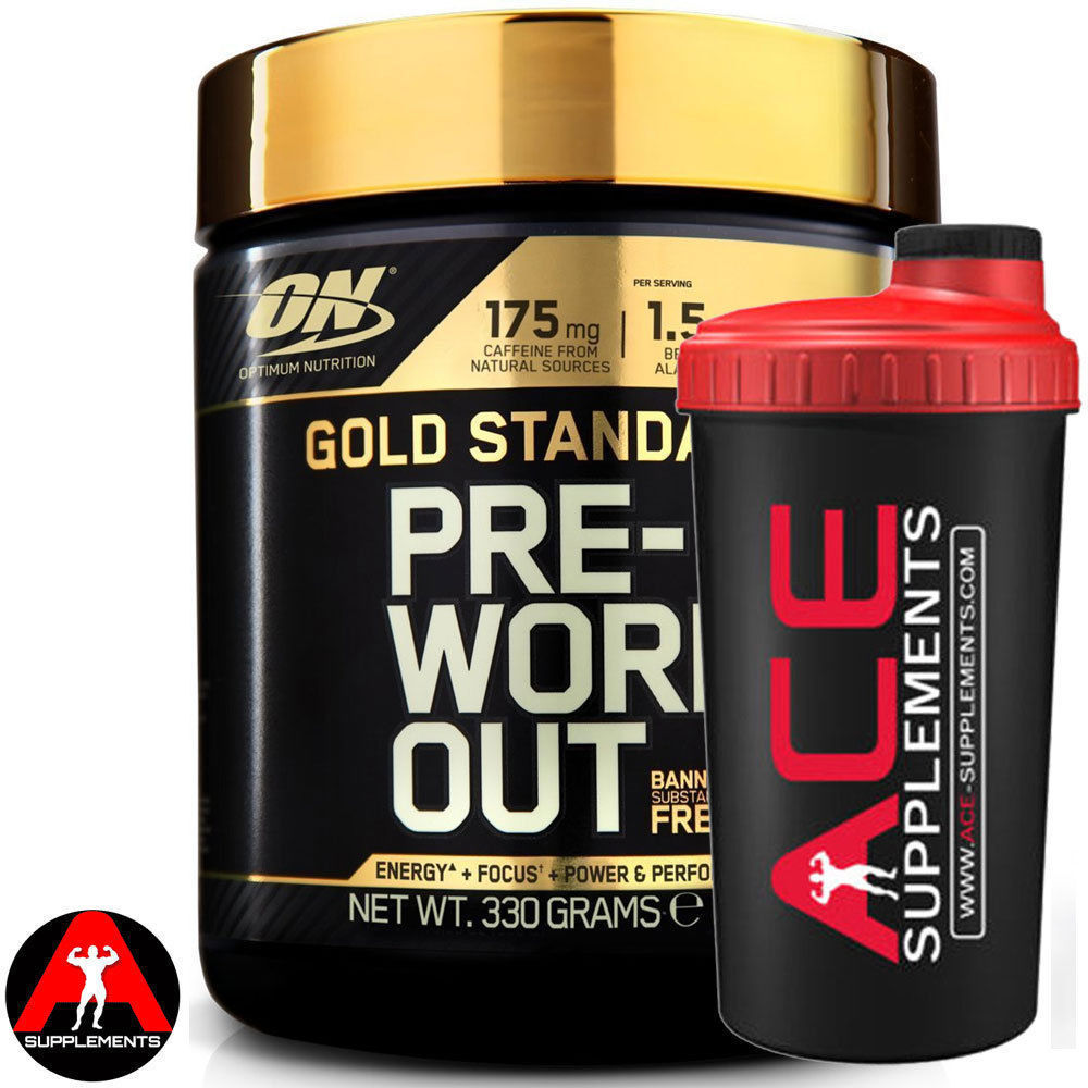 Optimum Nutrition On Gold Standard Pre Workout 330g Free