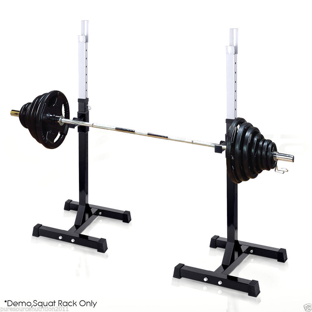 Olympic Weight Bench With Squat Rack: TNP Olympic Squat Rack Stand Power Stands Barbell