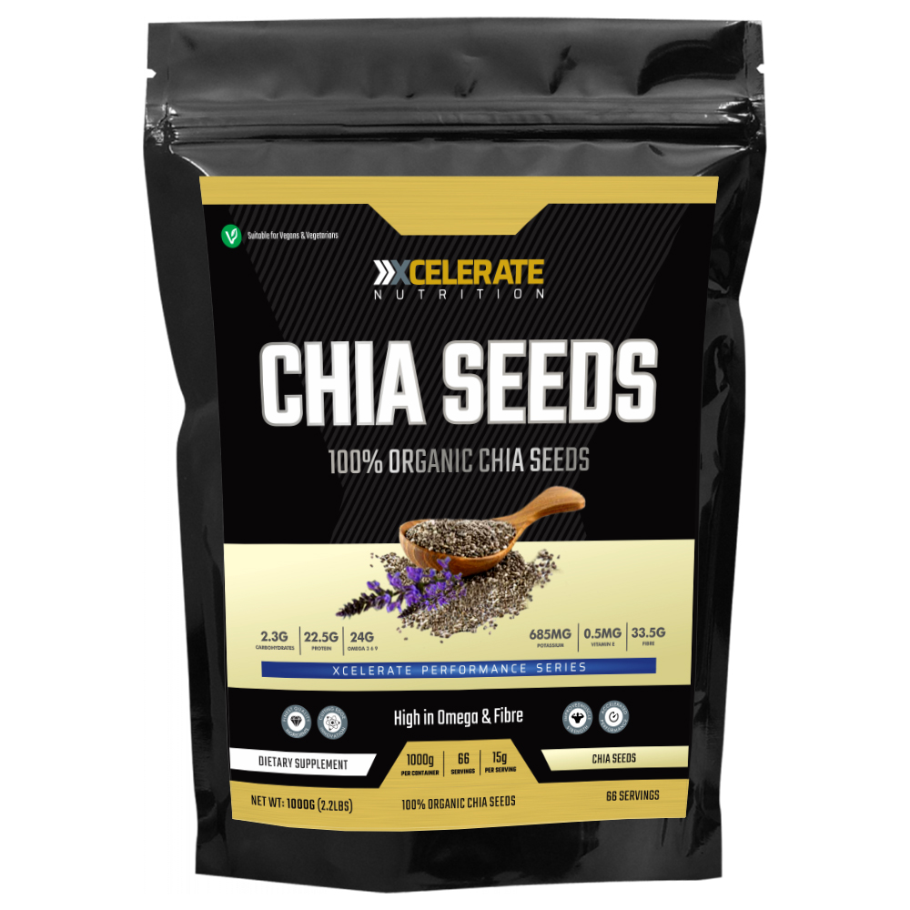 Chia Seeds Natural Weight Loss & Detox With Raw Whole Chia 250G/500G/1KG/2KG 2