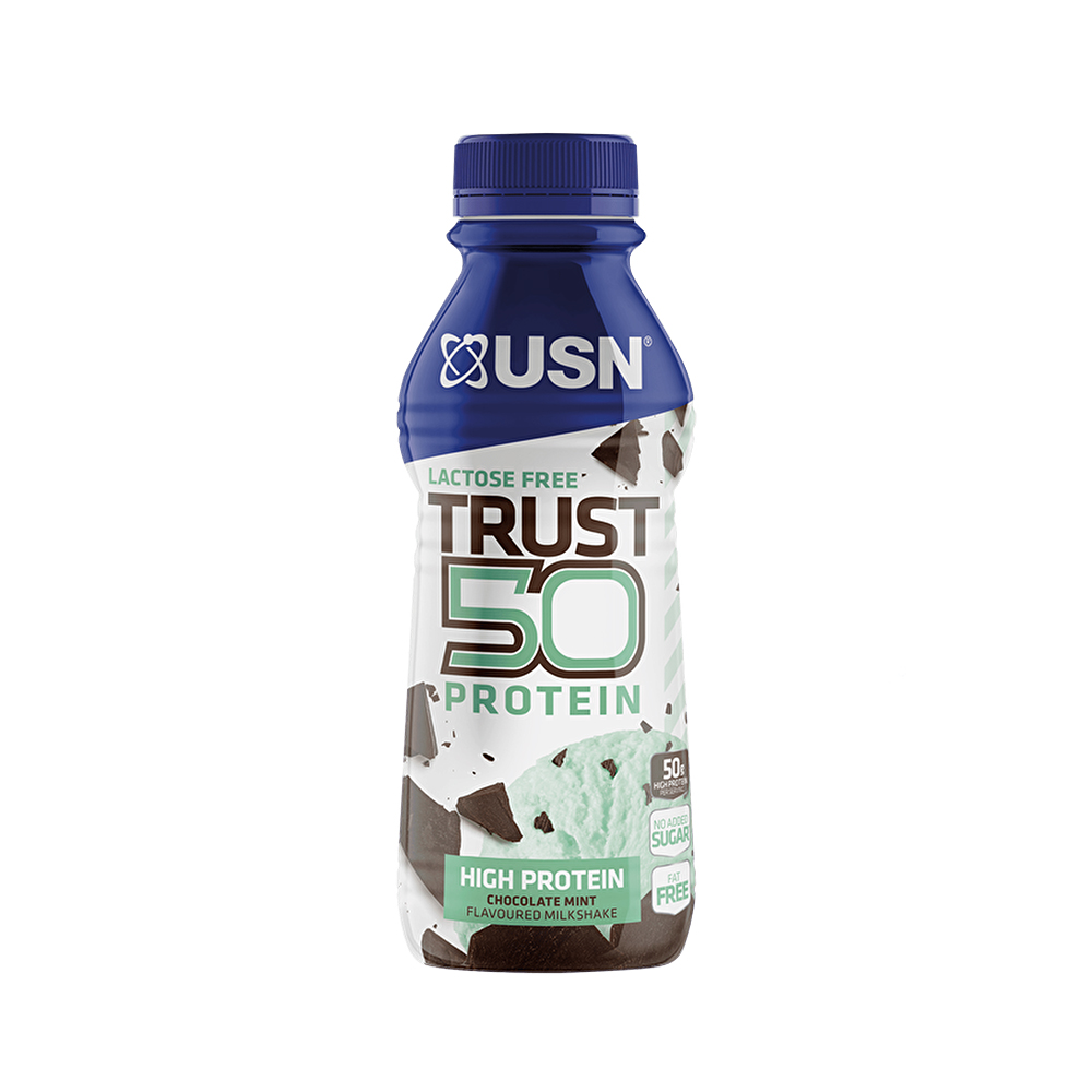 Usn Trust Rtd 6x500ml 50g High Protein Shake Low Sugar