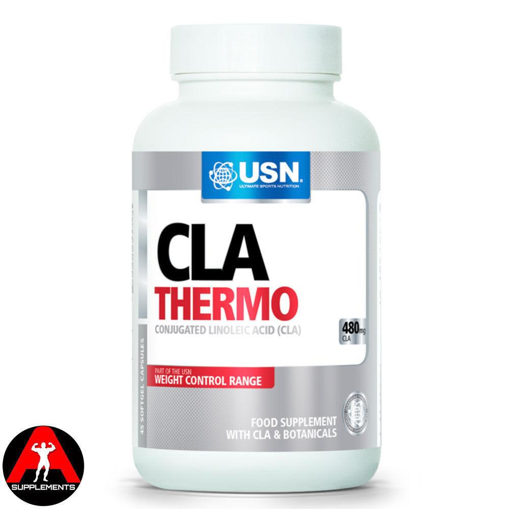 Usn Cla Thermo Fat Burner Weight Loss 45 Caps 90 Caps Ebay