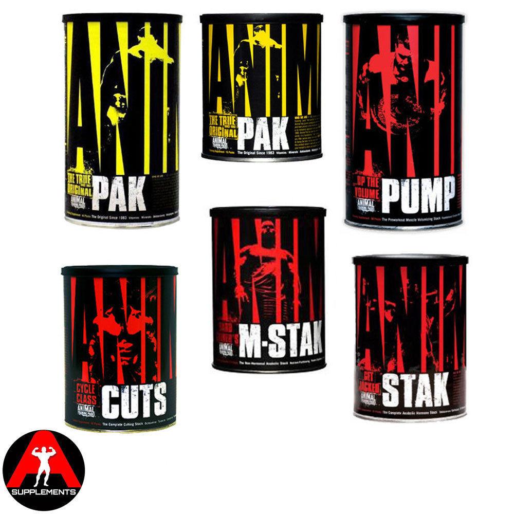 Universal Nutrition Animal 15 44 Pak Packs Cuts M Stak