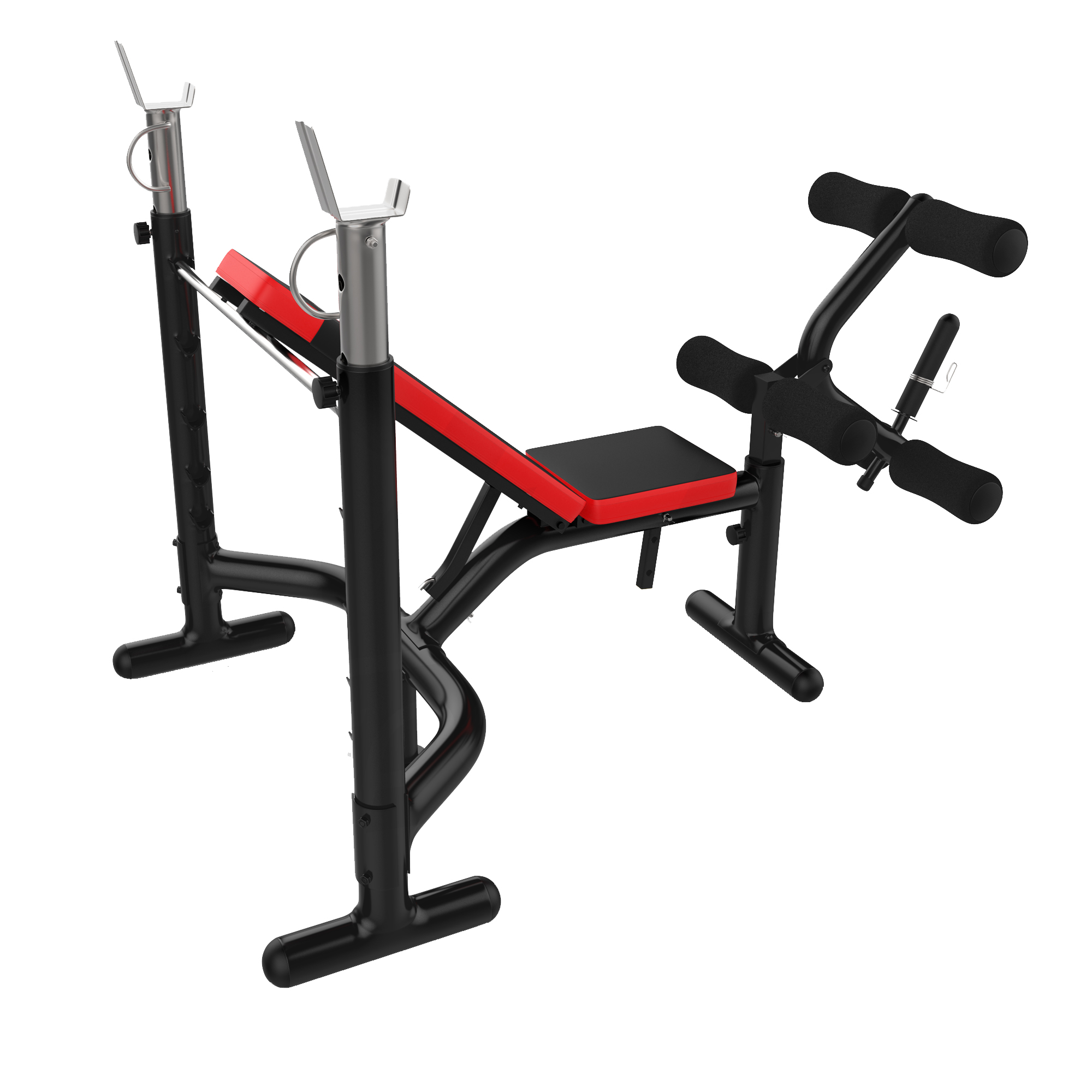 Weight Bench Adjustable Dumbbell Lifting Exercise Gym with ...