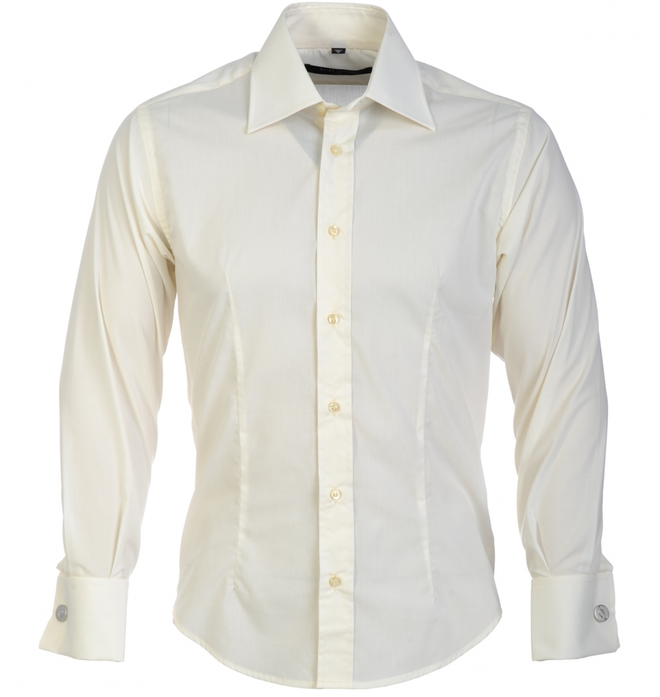 848e0ba0fe8c GUIDE LONDON Men s Shirt Dress Casual Formal Slim Fit Classic Double ...