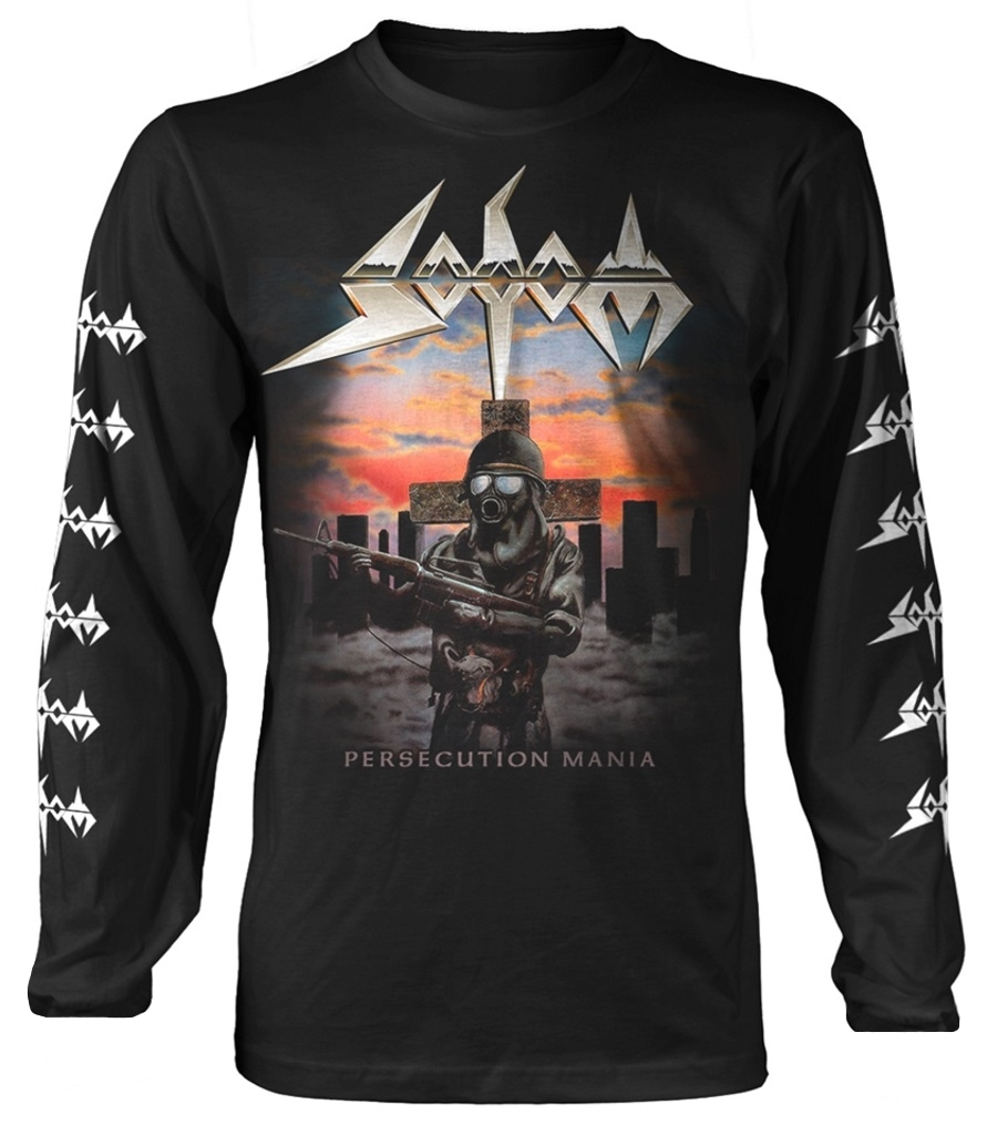NEW /& OFFICIAL Sodom /'Persecution Mania/' T-Shirt