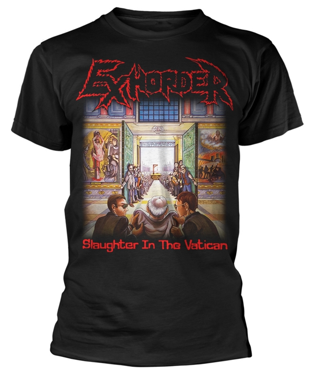 Slaughter in the Vatican T-Shirt EXHORDER