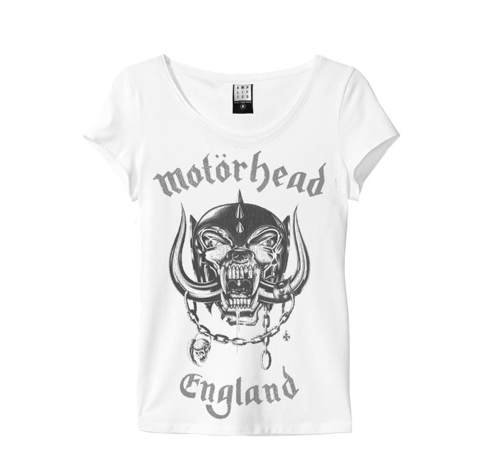 Amplified Motorhead England Women/'s T-Shirt