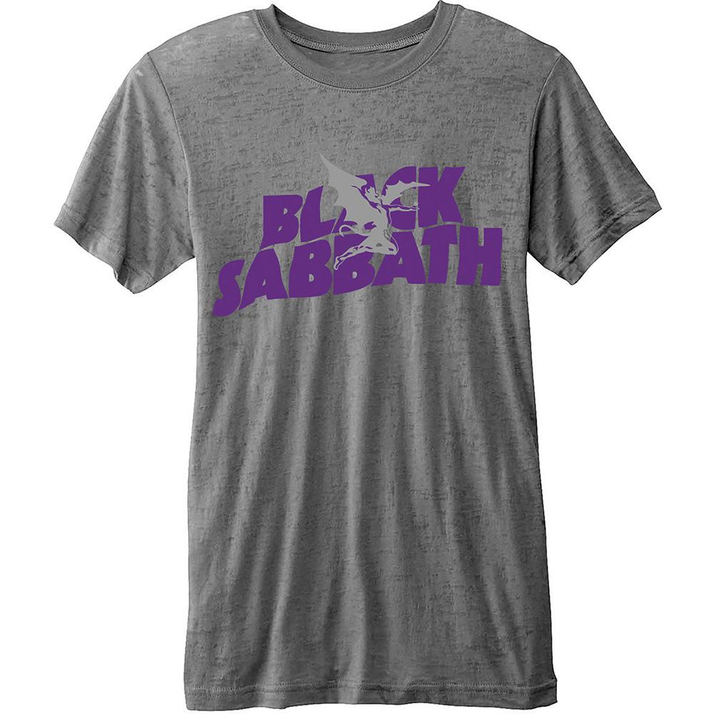 72bb626fa8 Black Sabbath  Logo And Demon  Burnout T-Shirt - NEW   OFFICIAL! Product  Description. Officially Licensed Merchandise