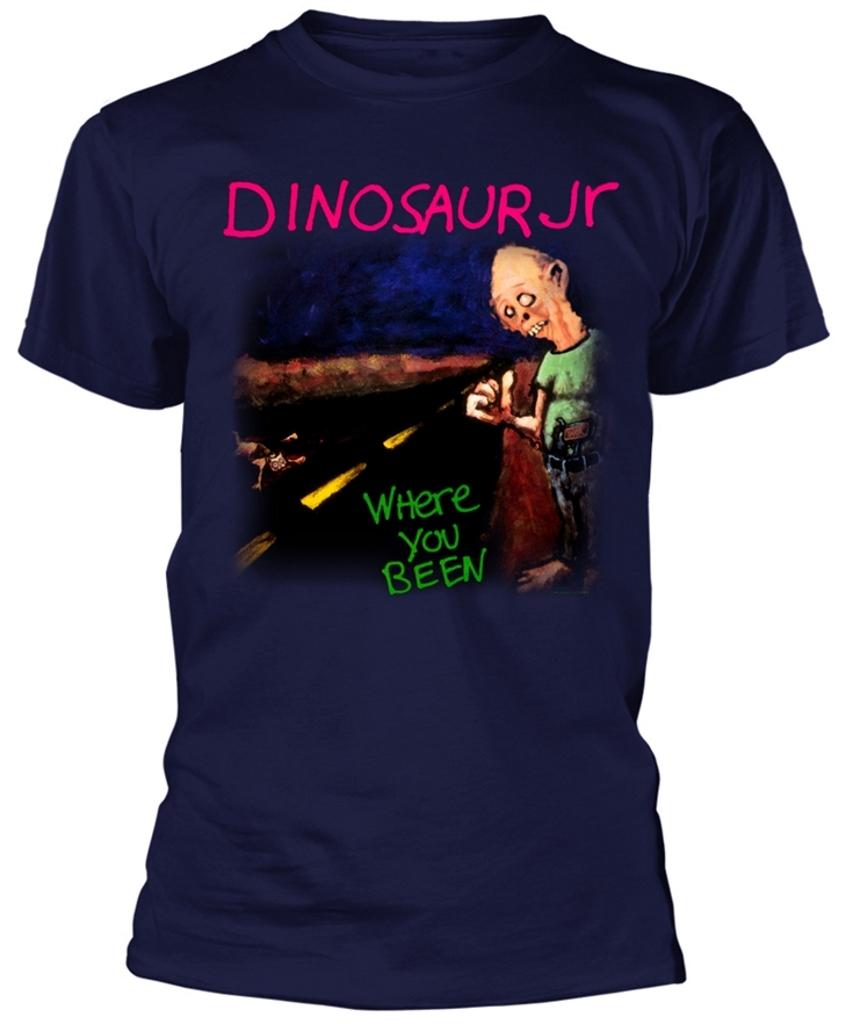 NEW /& OFFICIAL! T-Shirt Blue Dinosaur Jr /'Where You Been/'