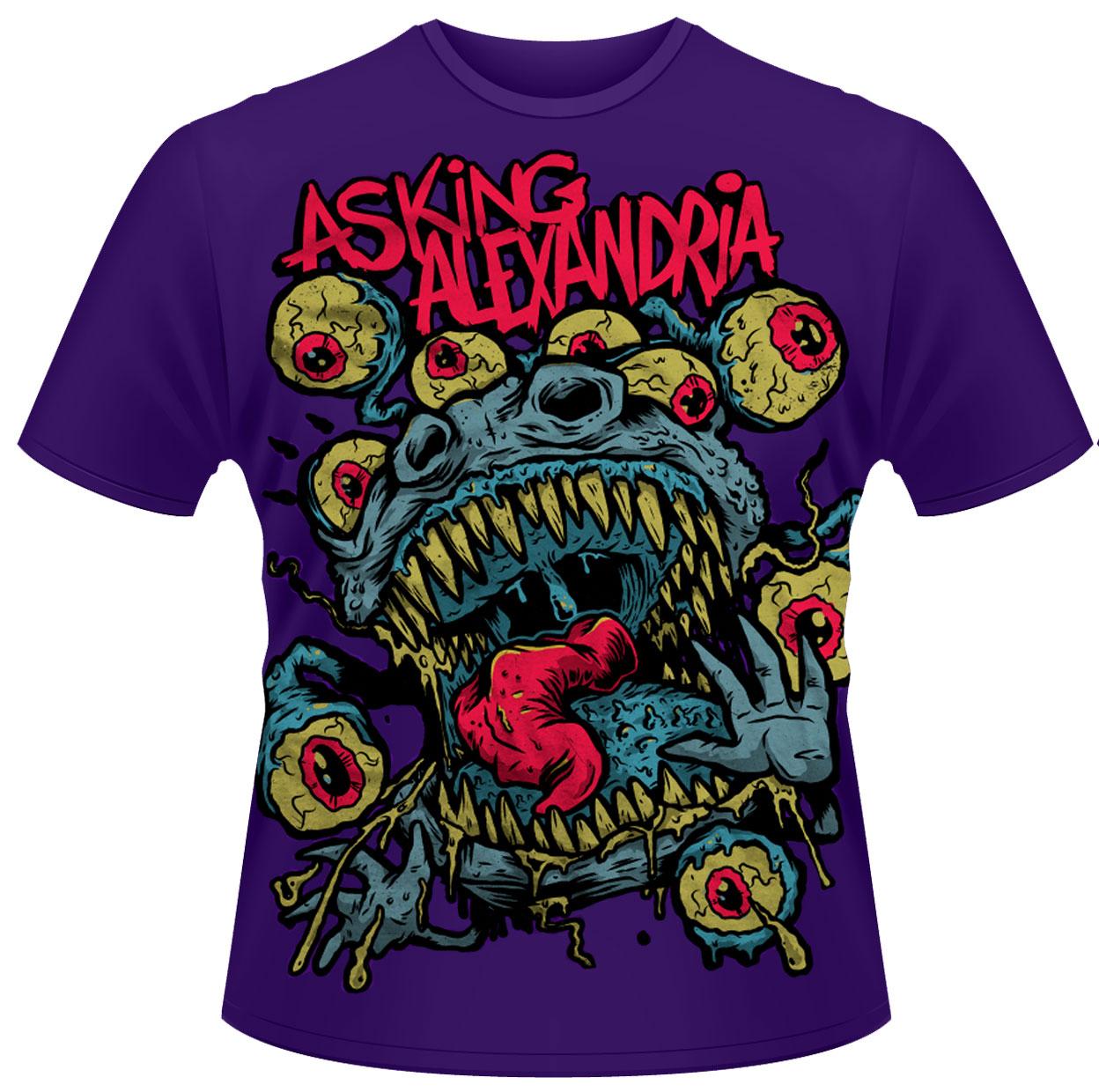 Asking-Alexandria-039-Eyeballs-039-T-Shirt-NEW-amp-OFFICIAL