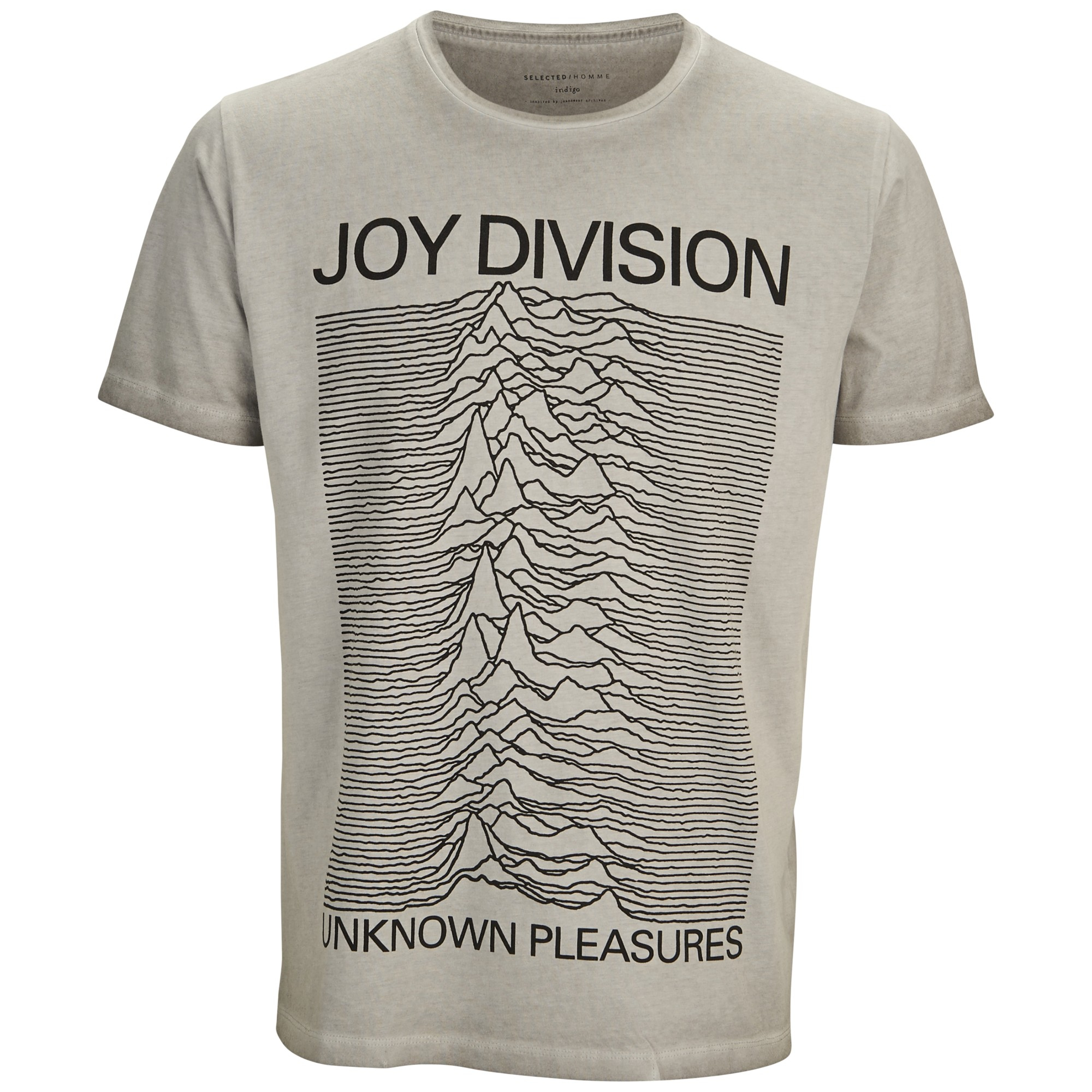 joy division 39 unknown pleasures grey 39 t shirt new. Black Bedroom Furniture Sets. Home Design Ideas