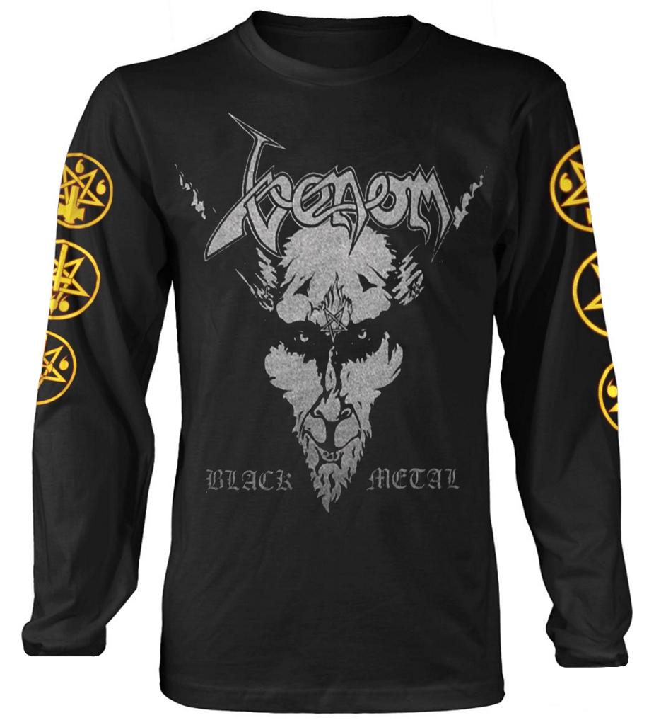 nouveau /& OFFICIEL! Venom/' Black Metal/' T-Shirt