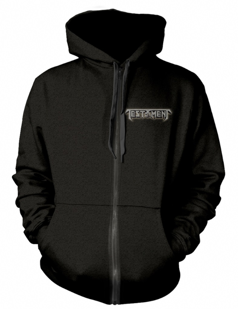 NEW hoody Testament /'Brotherhood Of The Snake/' Zip Hoodie