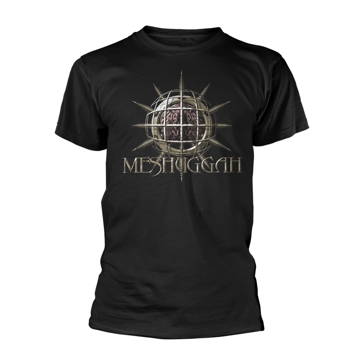 25 YEARS Size XXL Black Mens Licensed Merch New Official T Shirt MESHUGGAH