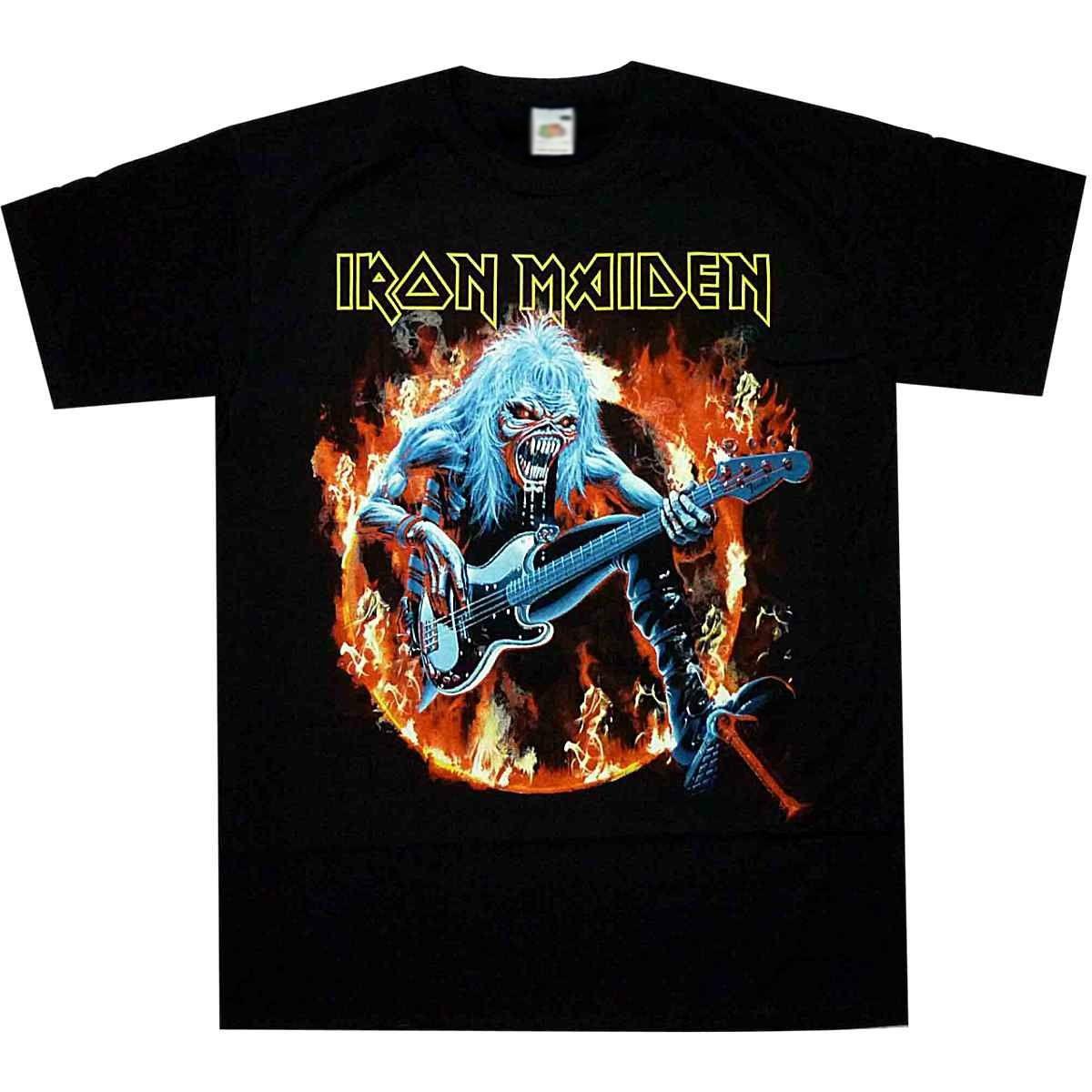 NEW /& OFFICIAL Iron Maiden /'Fear Live Flames/' T-Shirt