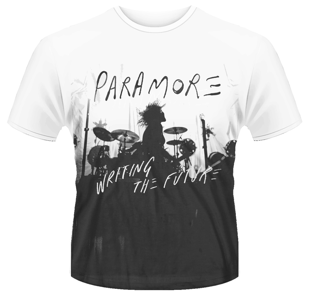 T Newamp; Silhouette' The 'writing Future Shirt Official Paramore ZiuOTkPX