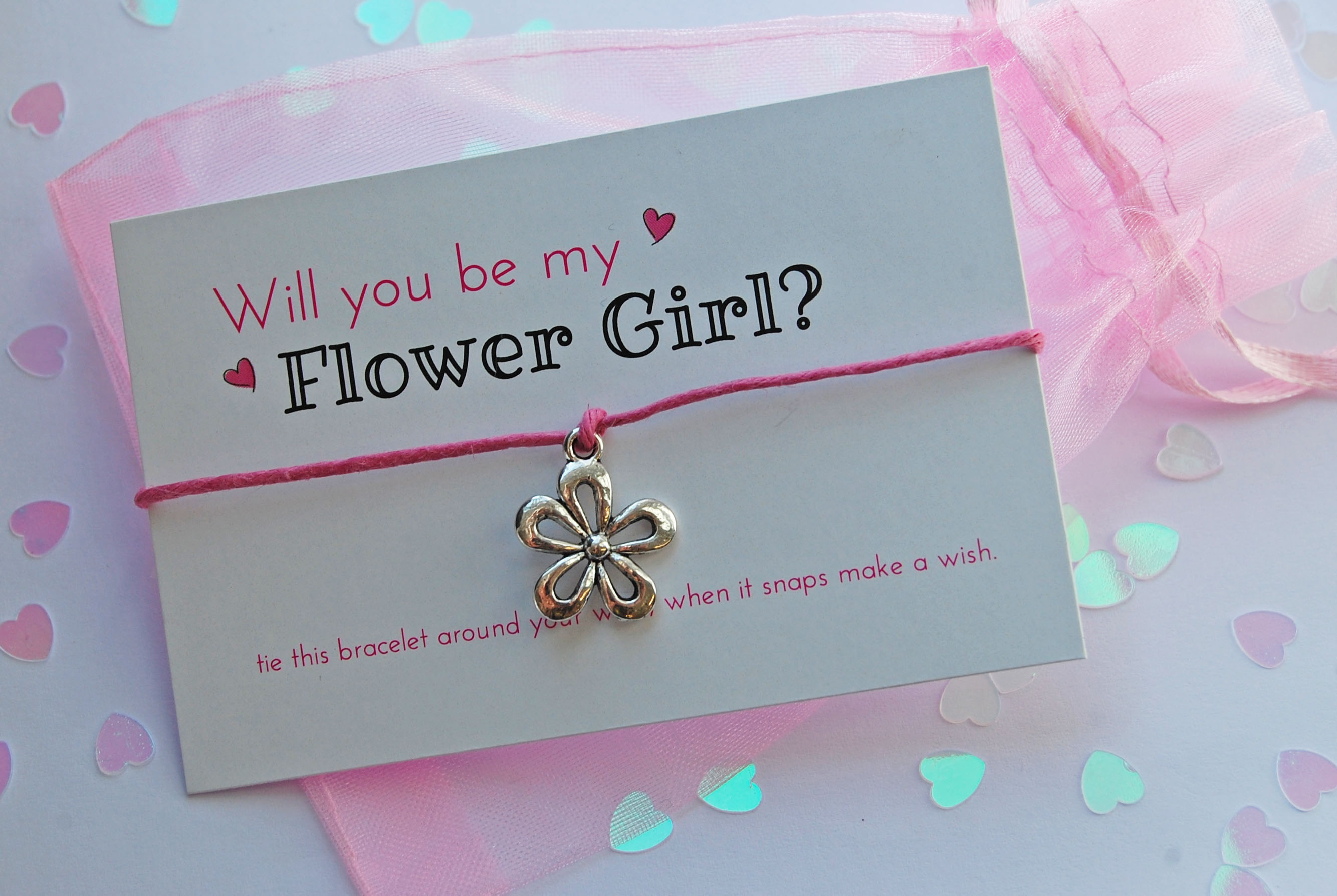 gift handmade girl products flower friendship swanky flowergirl crafts proposal collection bracelet