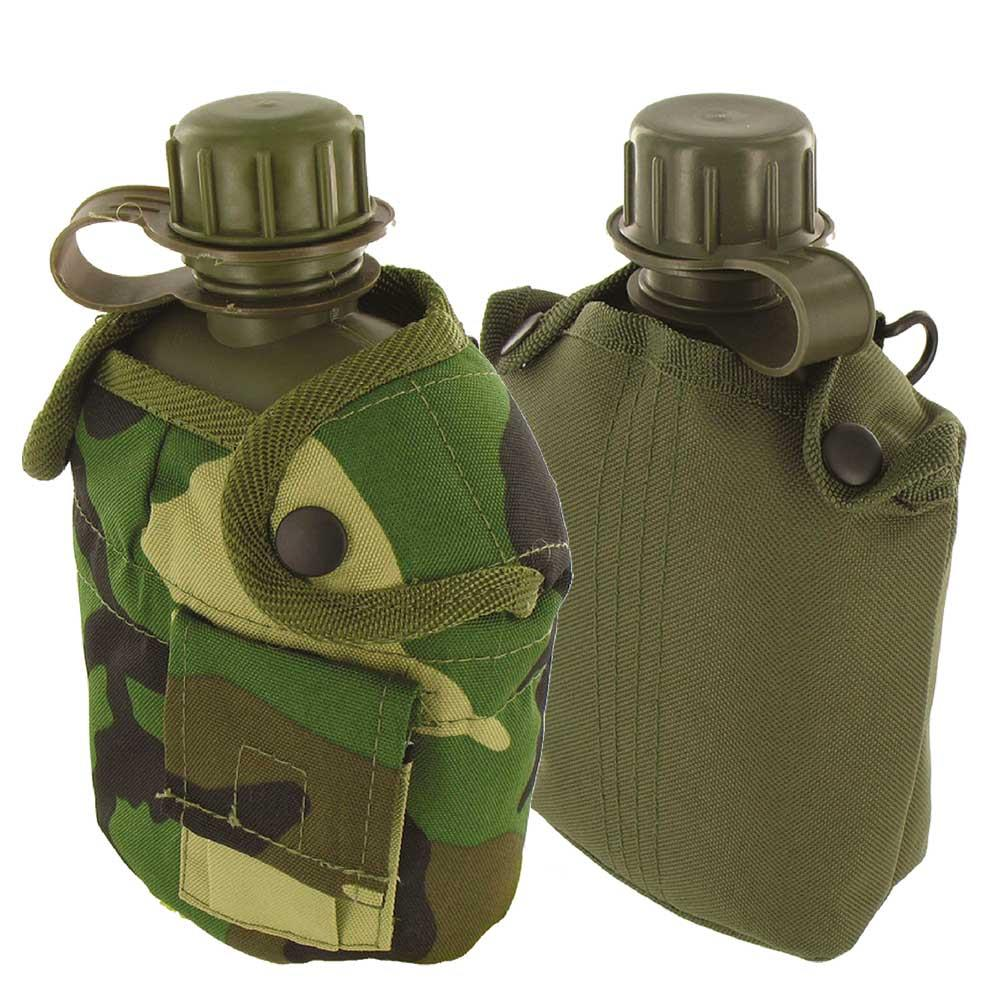 british army style military patrol water bottle canteen