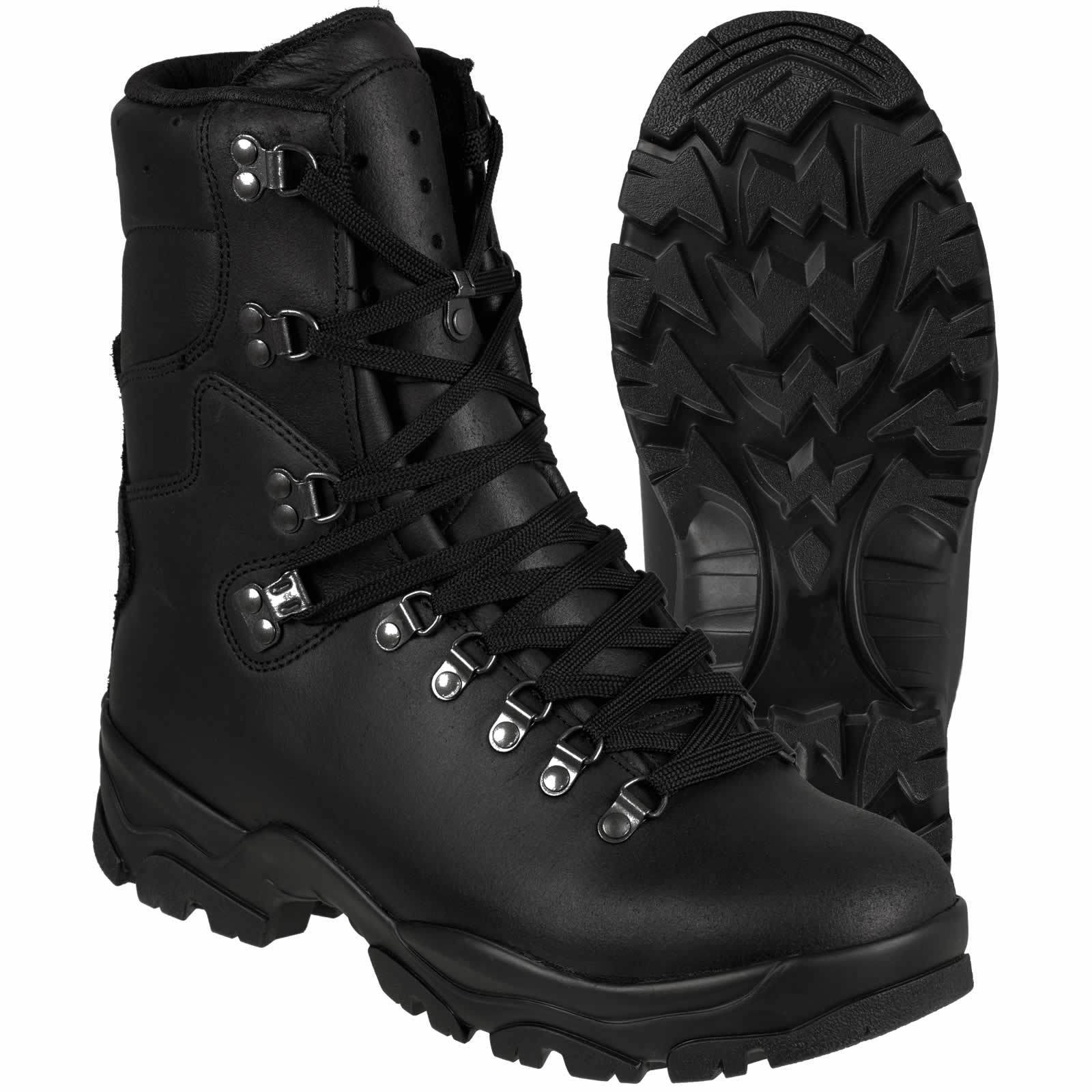 French Army Issue Black Waterproof Goretex Boots Genuine