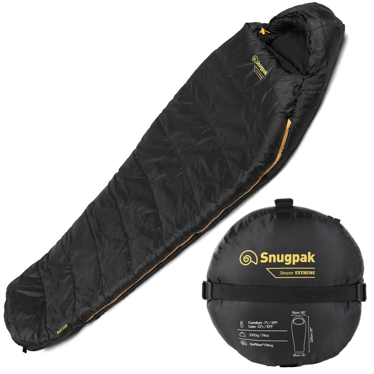 Snugpak Sleeper Extreme Basecamp Army Military Sleeping Bag