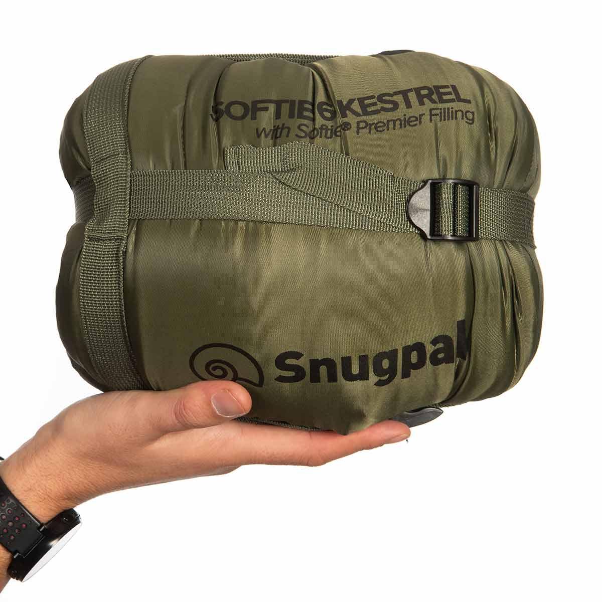 Snugpak Softie 6 Kestrel Military Army Sleeping Bag Compact Adult Travel Mummy