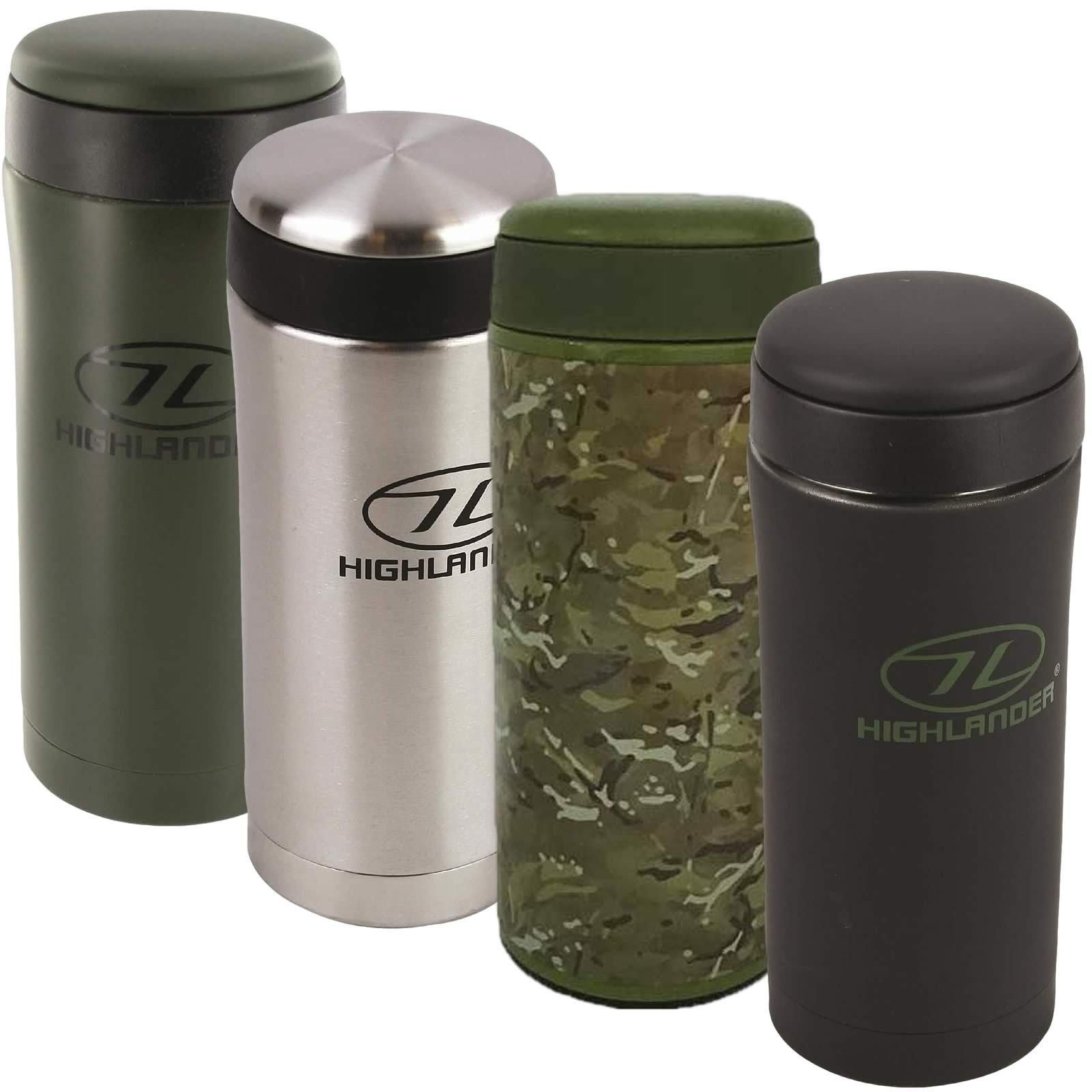 Stainless Steel Insulated Thermal Ammo Pouch Flask Mug