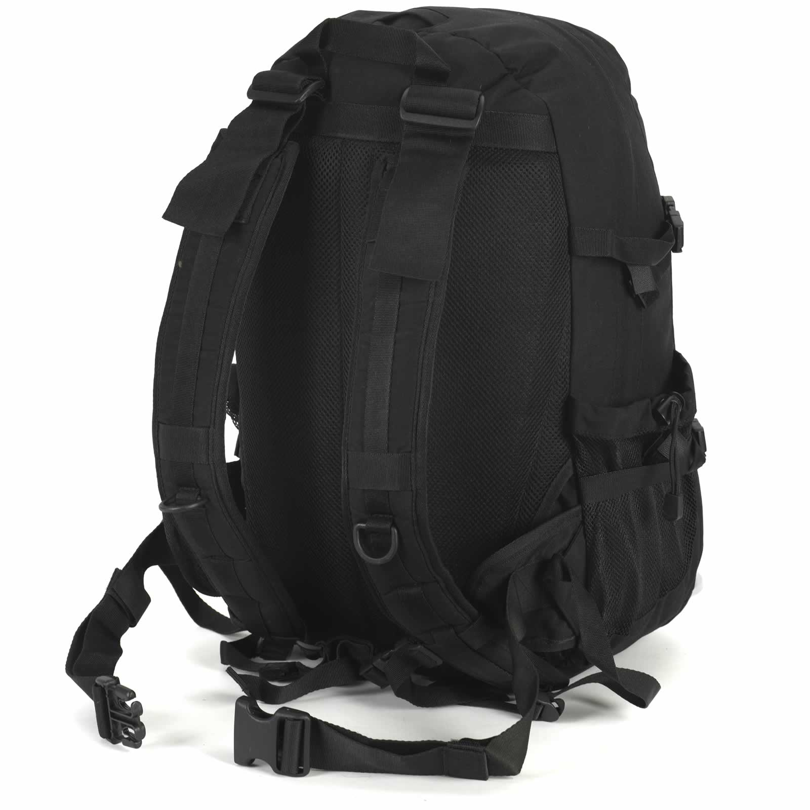 snugpak xocet 35 litre molle rucksack daysack backpack olive green black 35l ebay. Black Bedroom Furniture Sets. Home Design Ideas