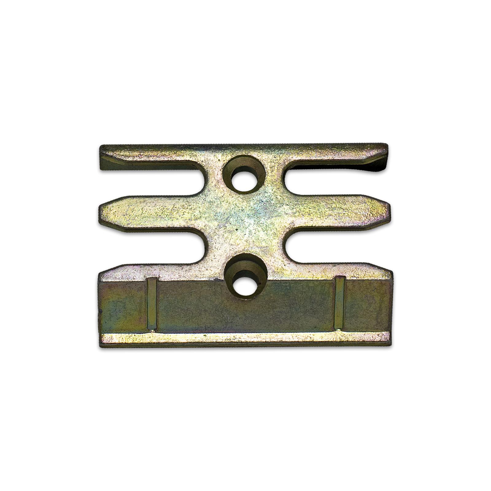Avocet WMS Espag Mushroom uPVC Window Keep ERK076M Strike Plate